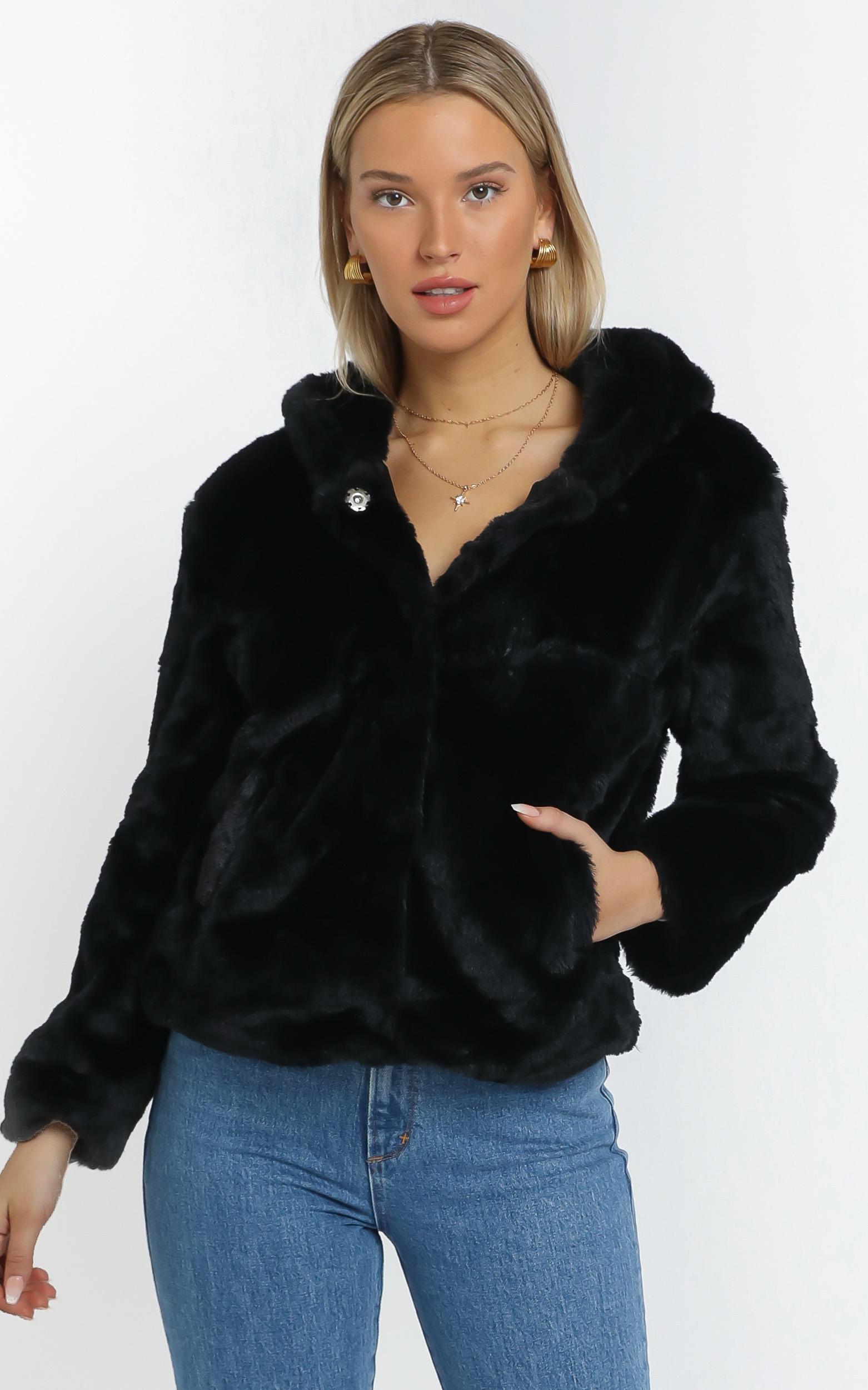 Tamryn Coat in Black - 12 (L), BLK1, hi-res image number null