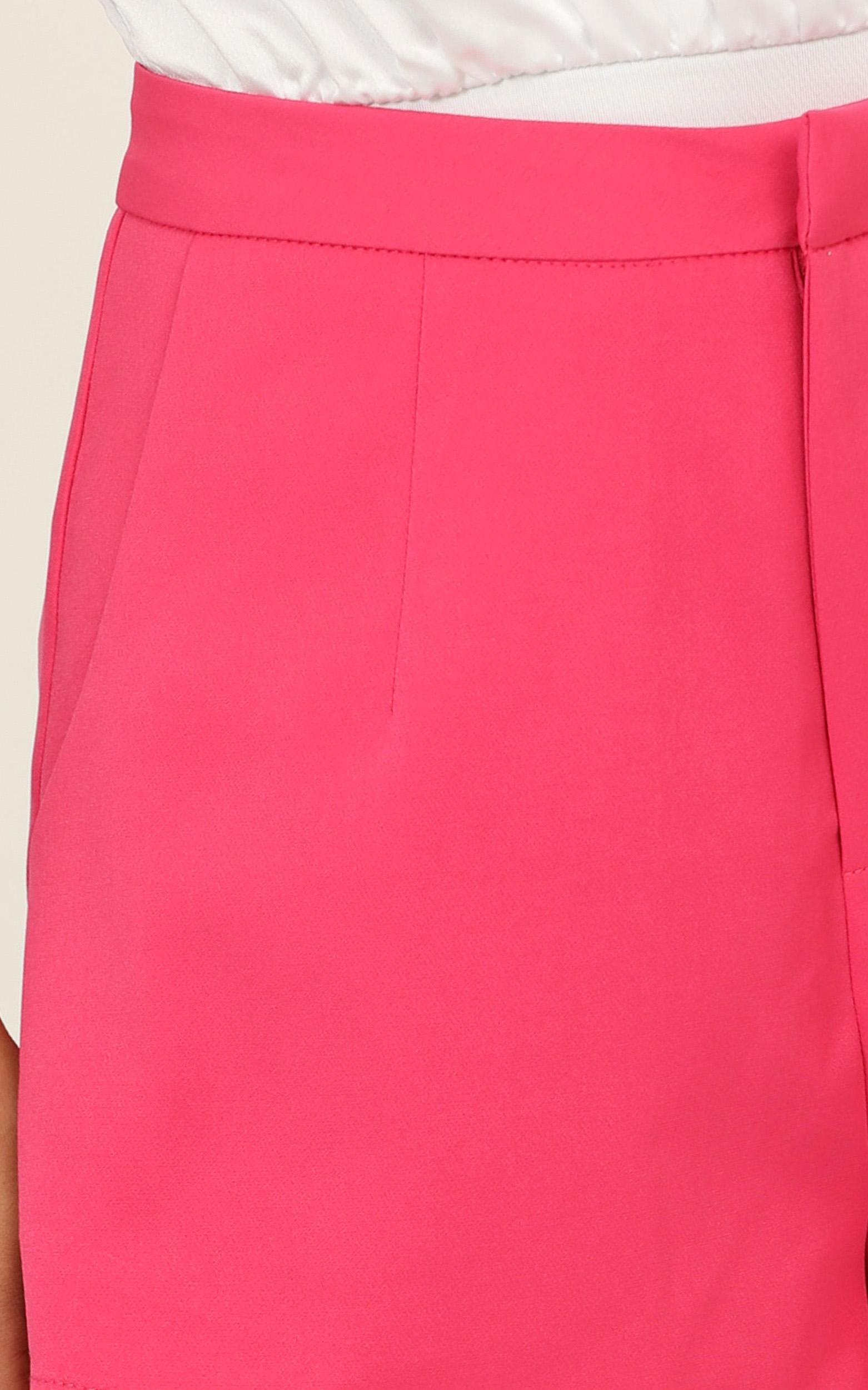 Systems Shorts in hot pink - 14 (XL), Pink, hi-res image number null