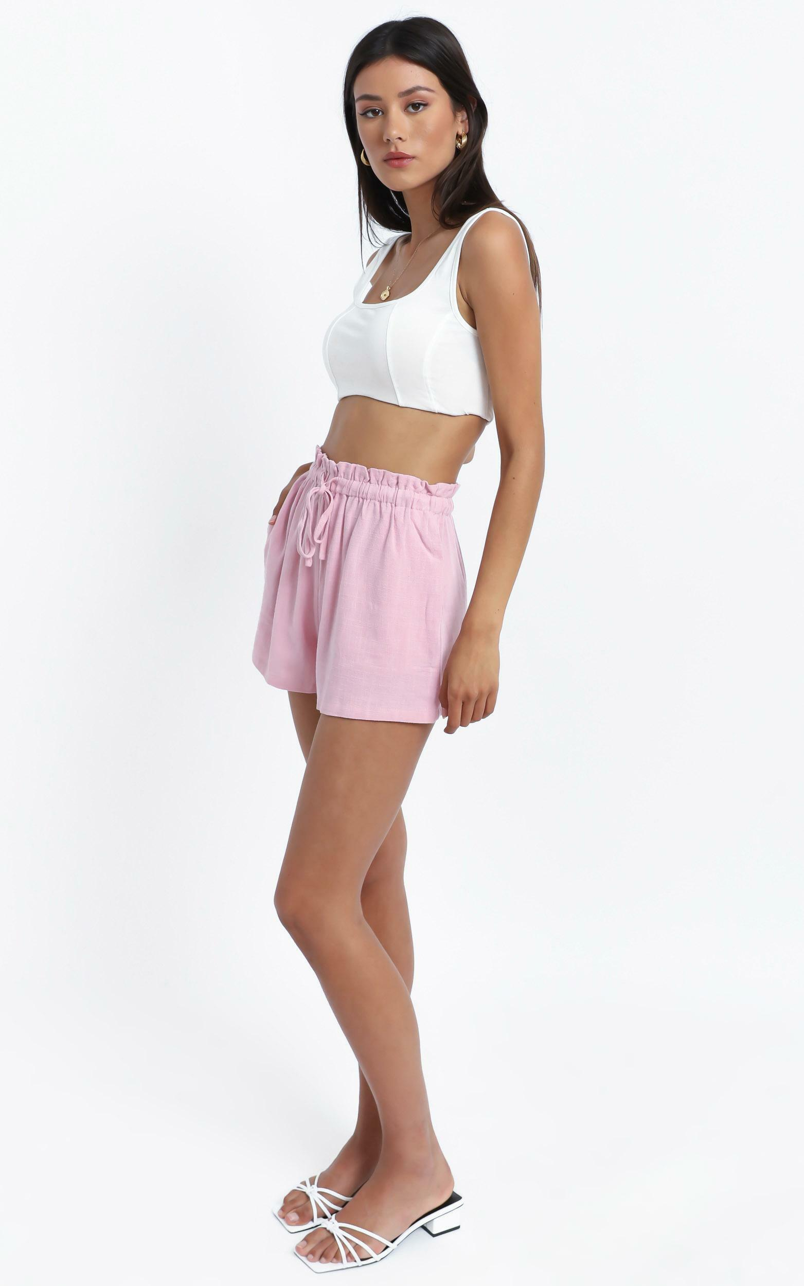 Brooklyn Shorts in Pink - 14 (XL), Pink, hi-res image number null