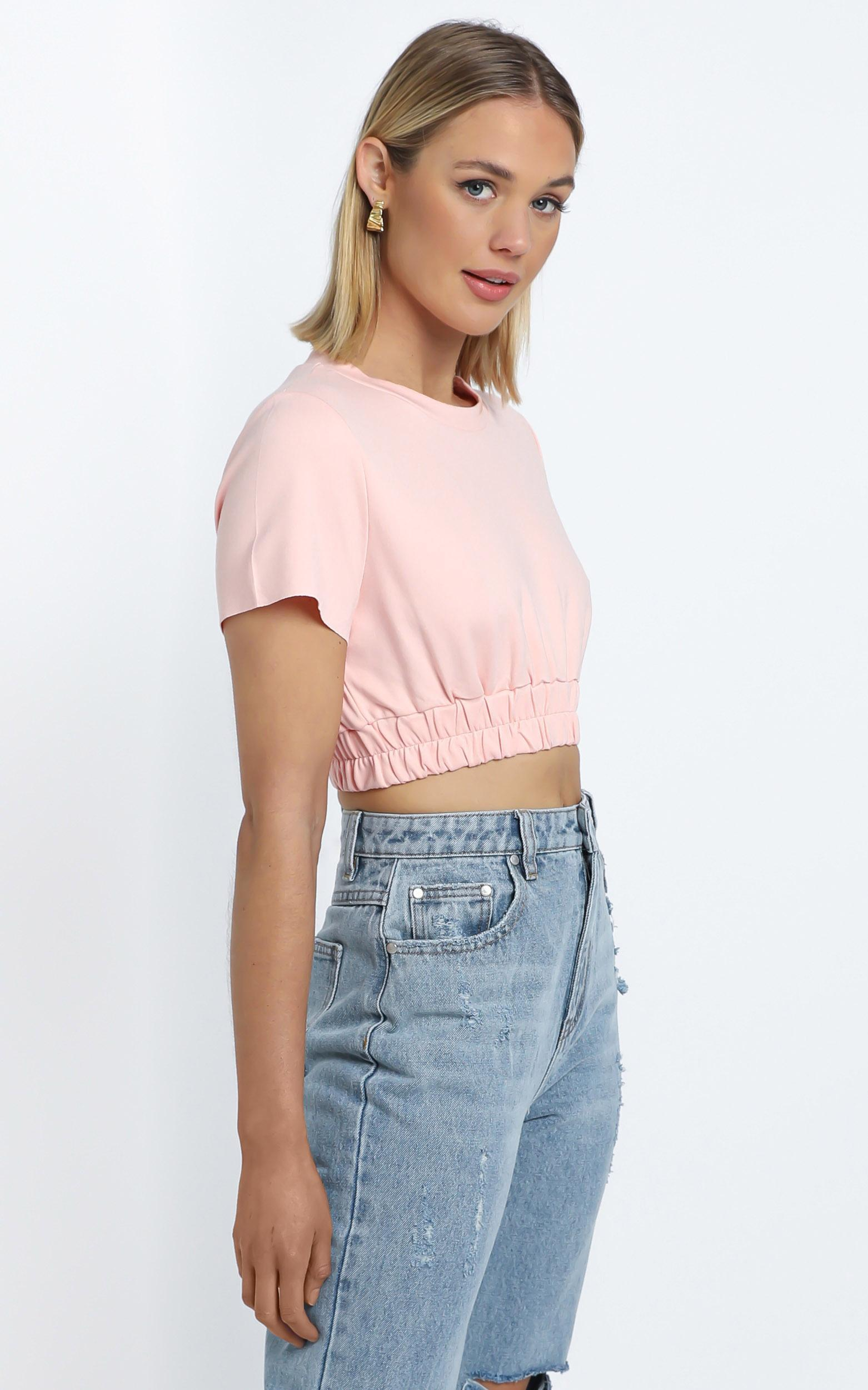 Zya The Label - Kira Tee in Pink - 14 (XL), PNK1, hi-res image number null