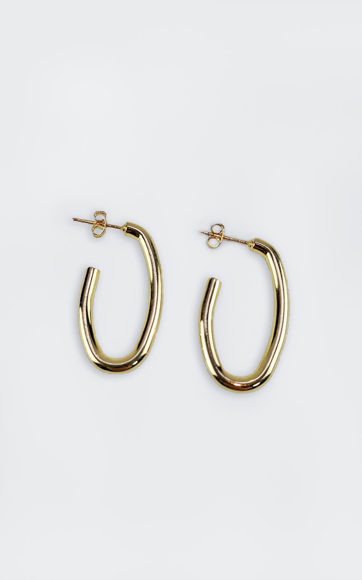 Peta and Jain - Stormi Earrings in Gold, , hi-res image number null