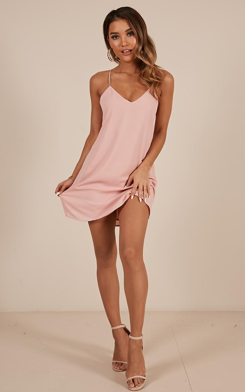 Like Soda dress in blush - 6 (XS), Blush, hi-res image number null