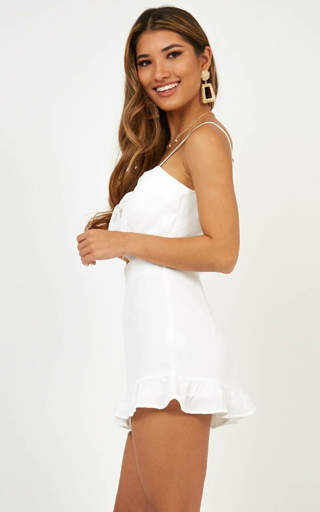 Consequences playsuit in white - 12 (L), White, hi-res image number null