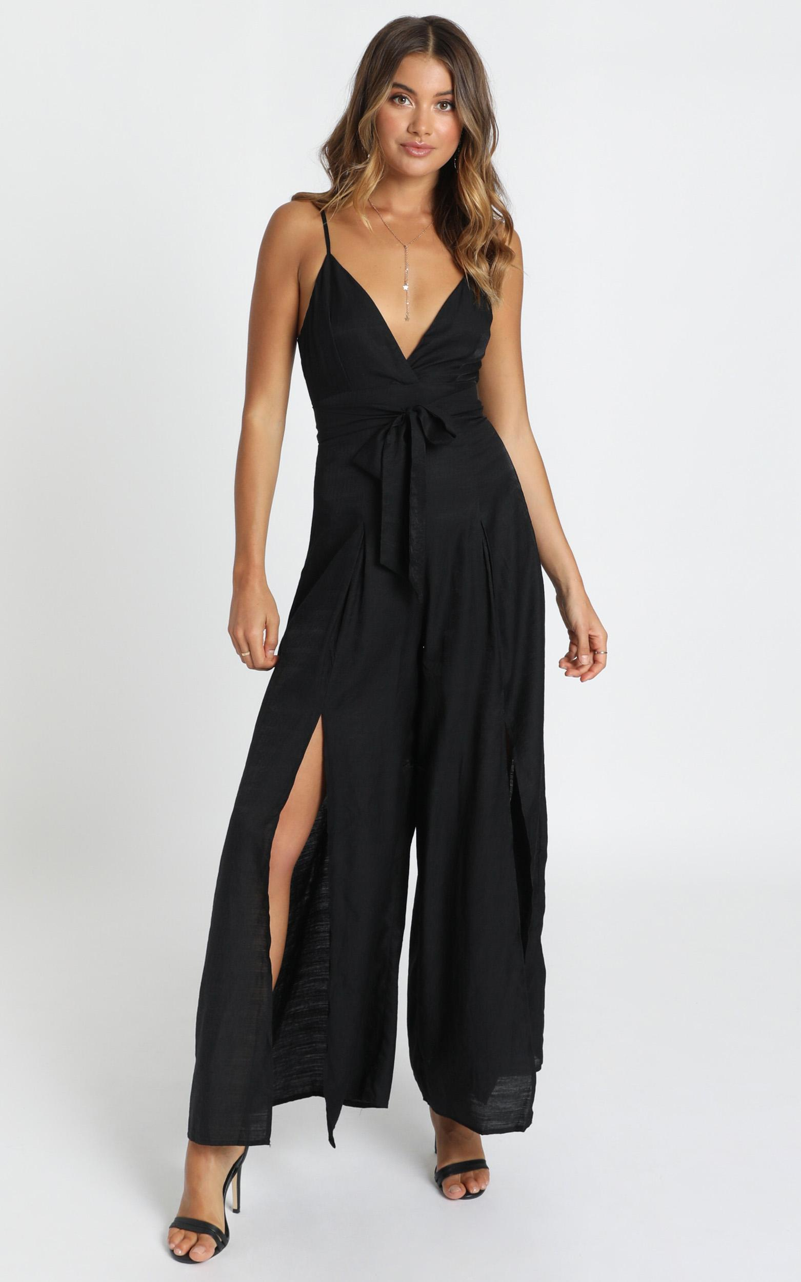 Written In History Jumpsuit in black - 12 (L), Black, hi-res image number null