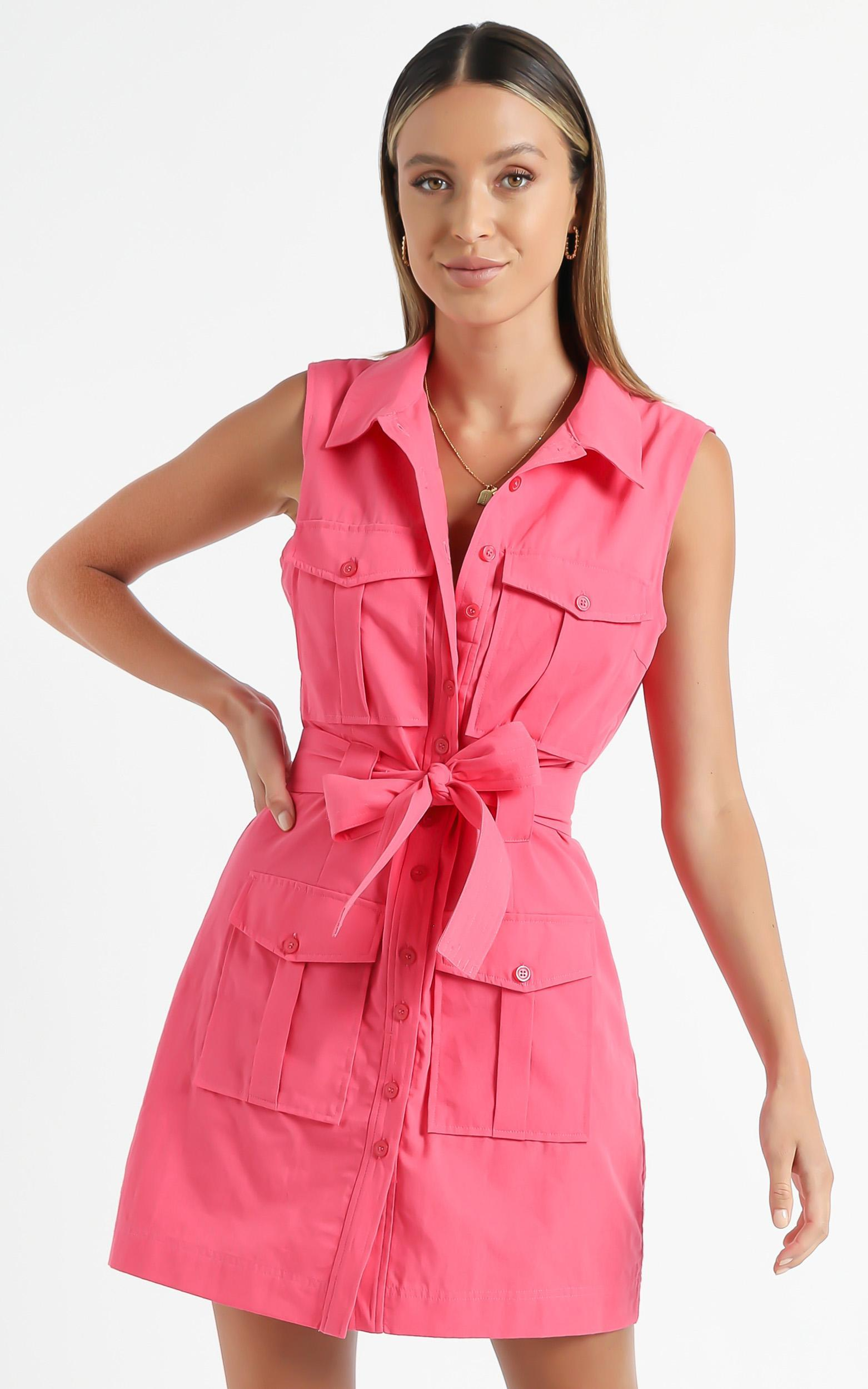 Turbina Dress in Pink - 6 (XS), Pink, hi-res image number null