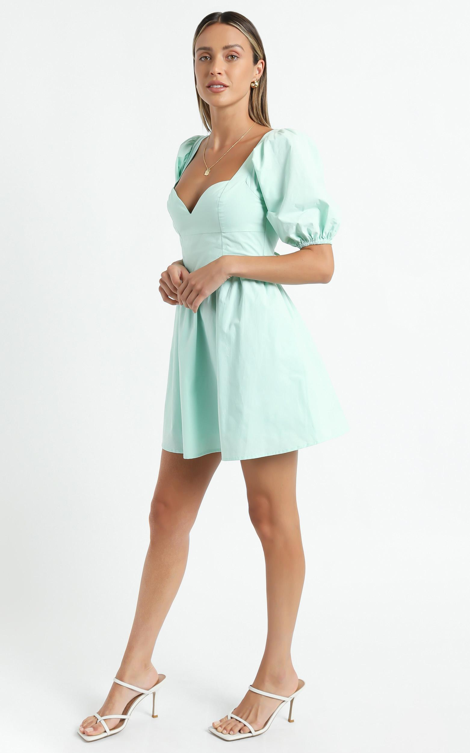 Liora Dress In Mint - 6 (XS), GRN3, hi-res image number null