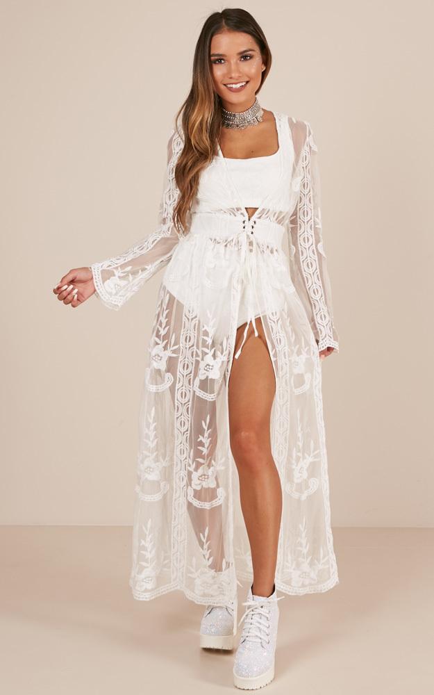 Do You Believe In Magic Kimono in cream - 20 (XXXXL), Cream, hi-res image number null