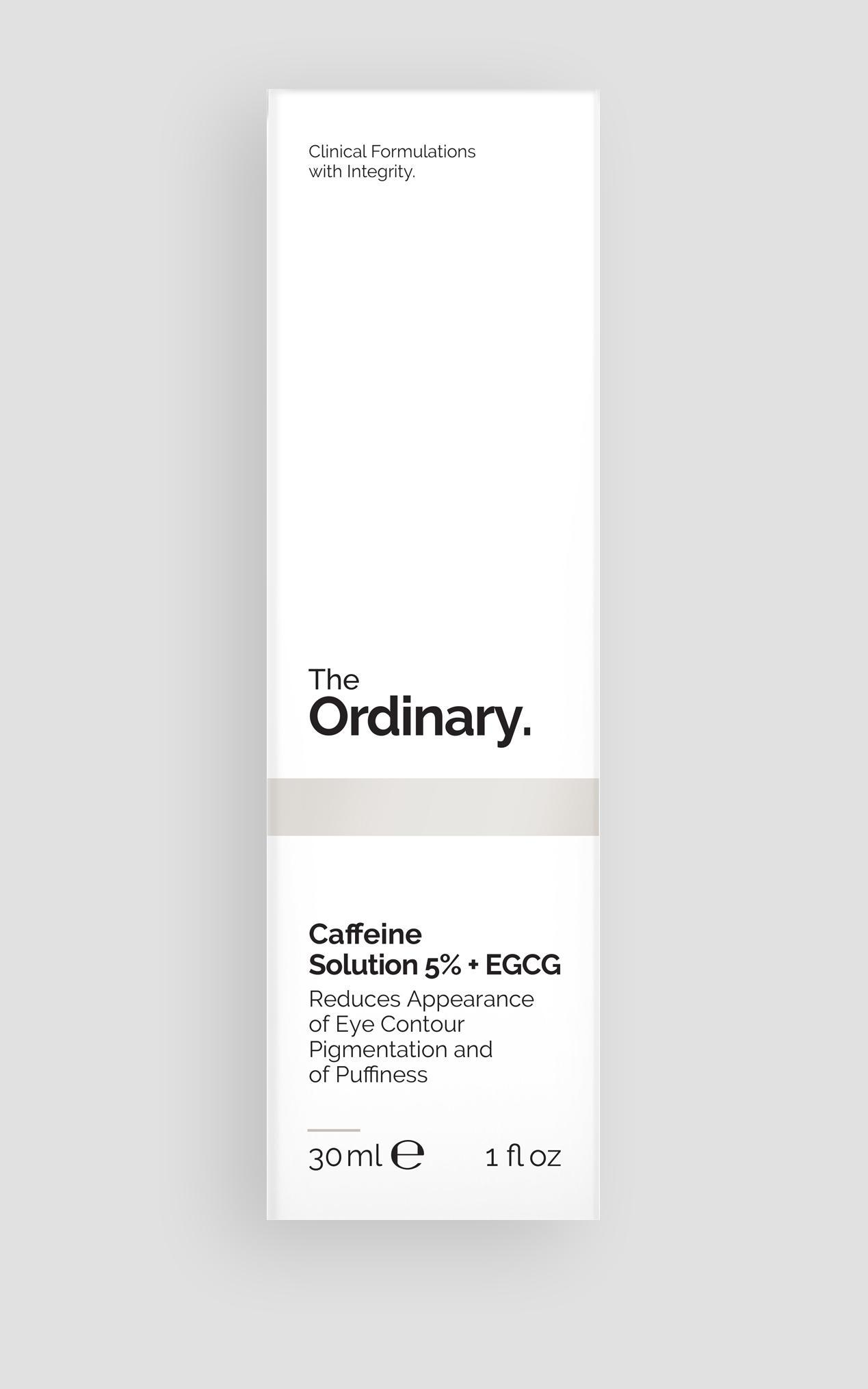The Ordinary - Caffeine Solution 5% + EGCG - 30ml , Clear, hi-res image number null