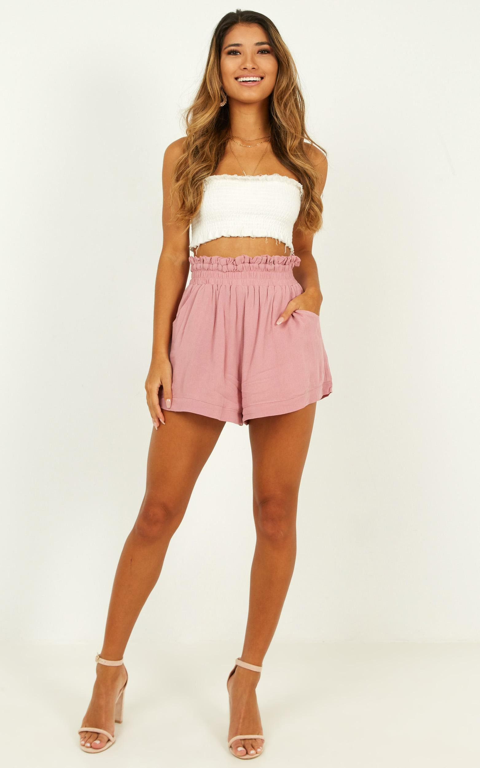 Beach Days Shorts In mauve - 14 (XL), Mauve, hi-res image number null