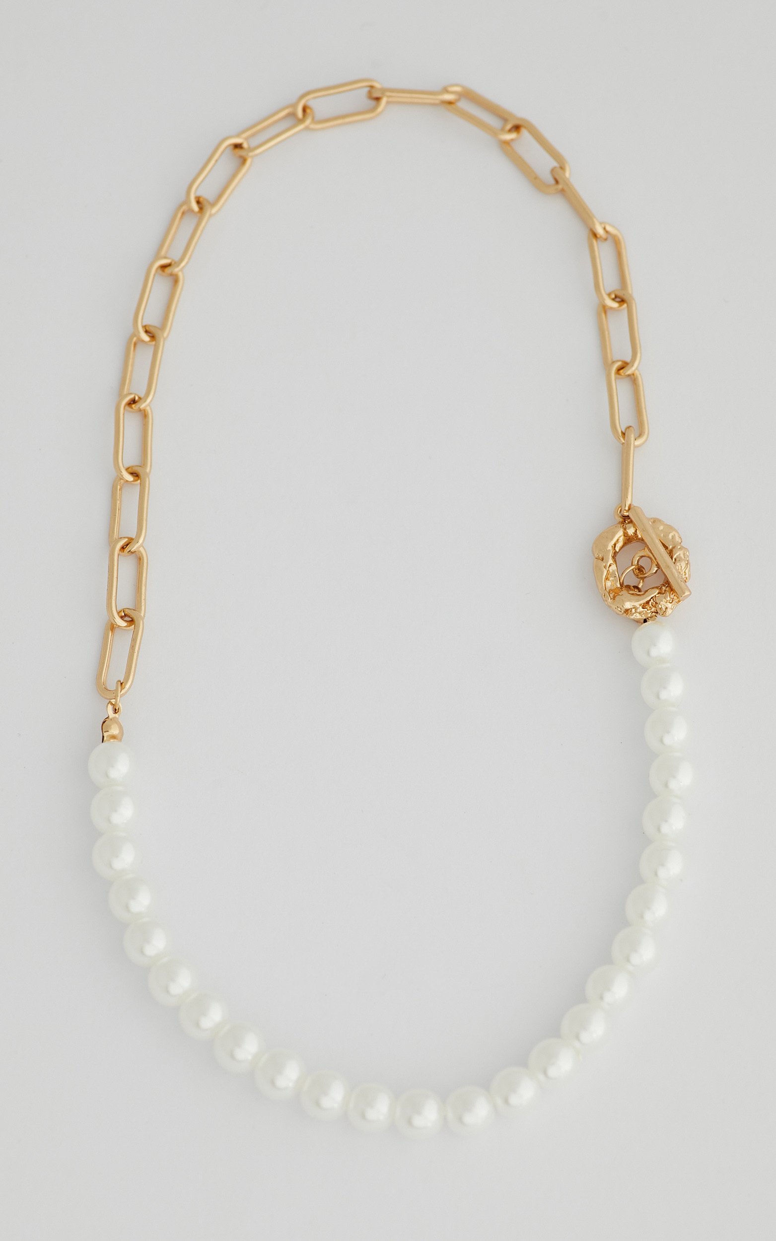 Flo Necklace in Gold - NoSize, GLD1, hi-res image number null