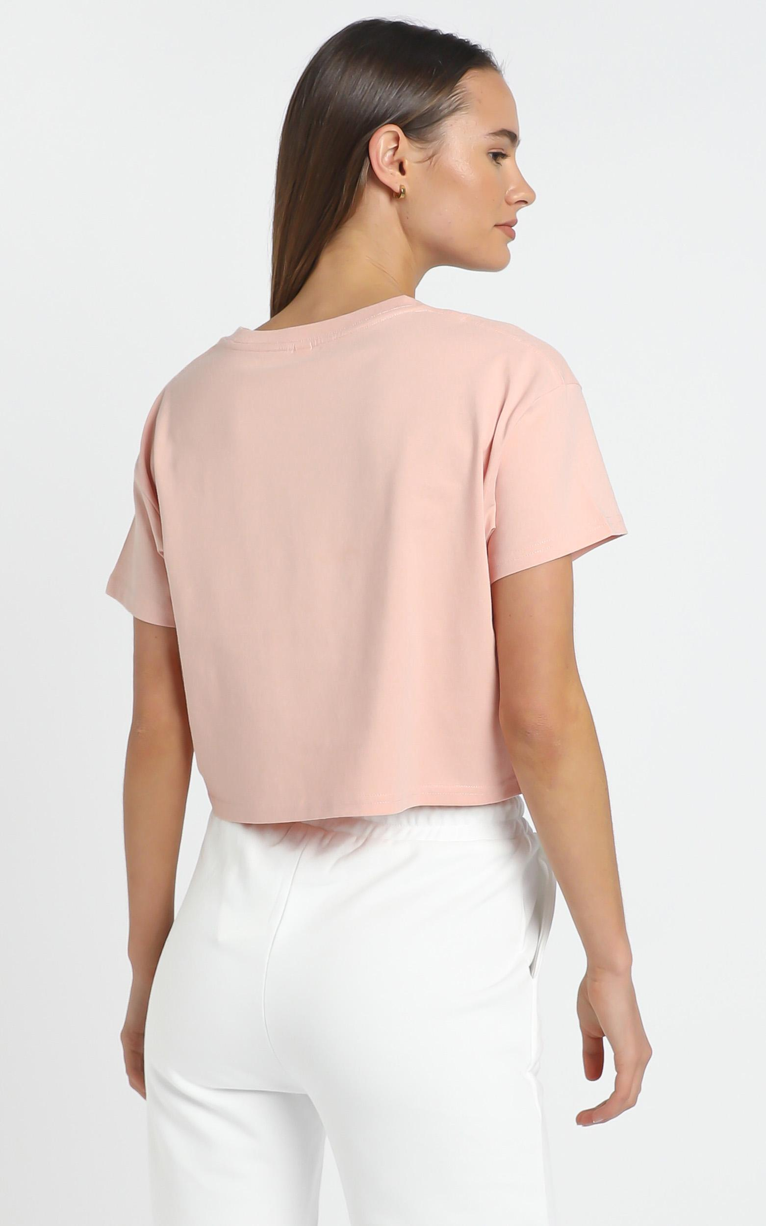 AS Colour - Crop Tee in Pale Pink - XL, Pink, hi-res image number null