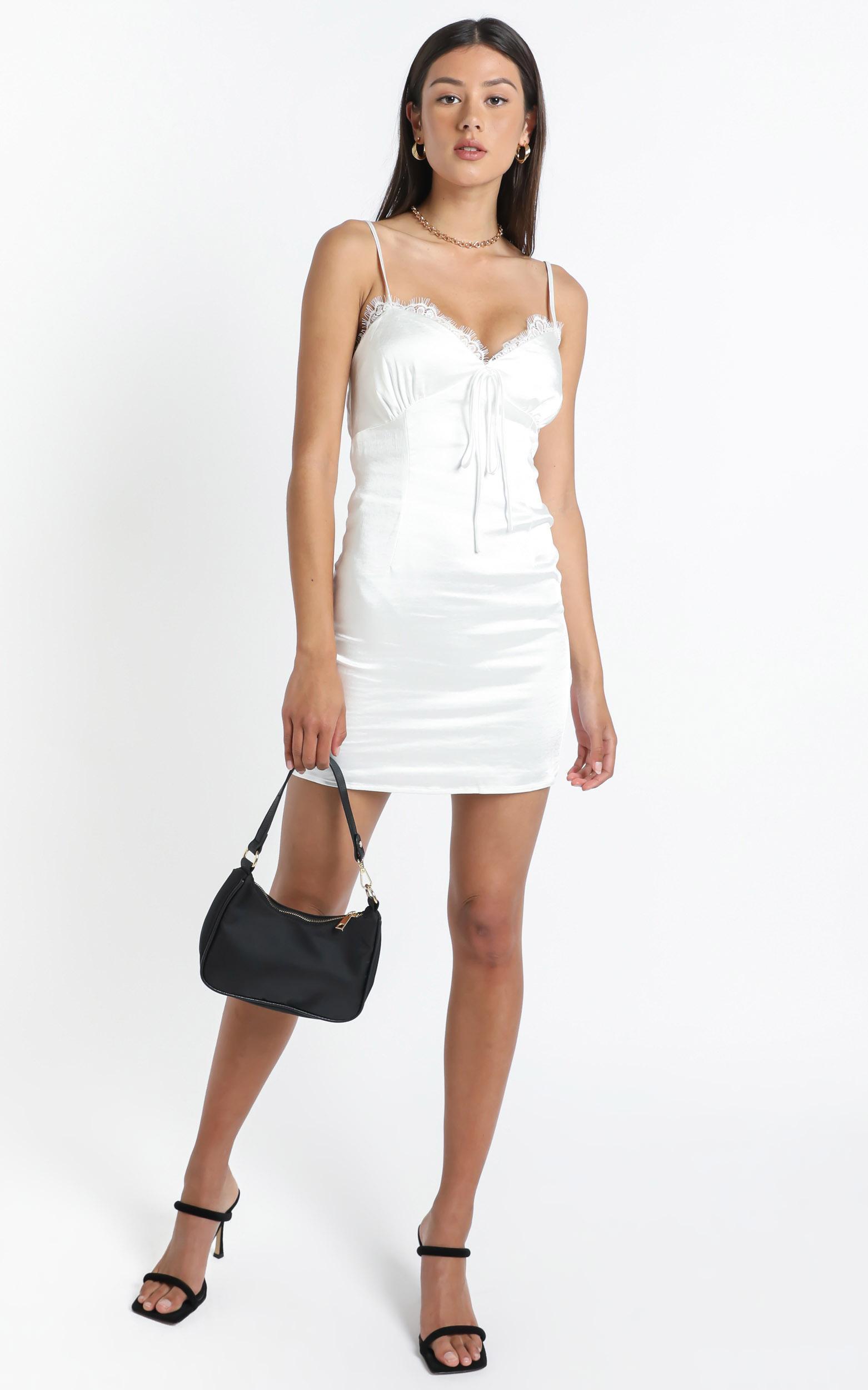 Lexington Mini Dress in White - 12 (L), WHT1, hi-res image number null