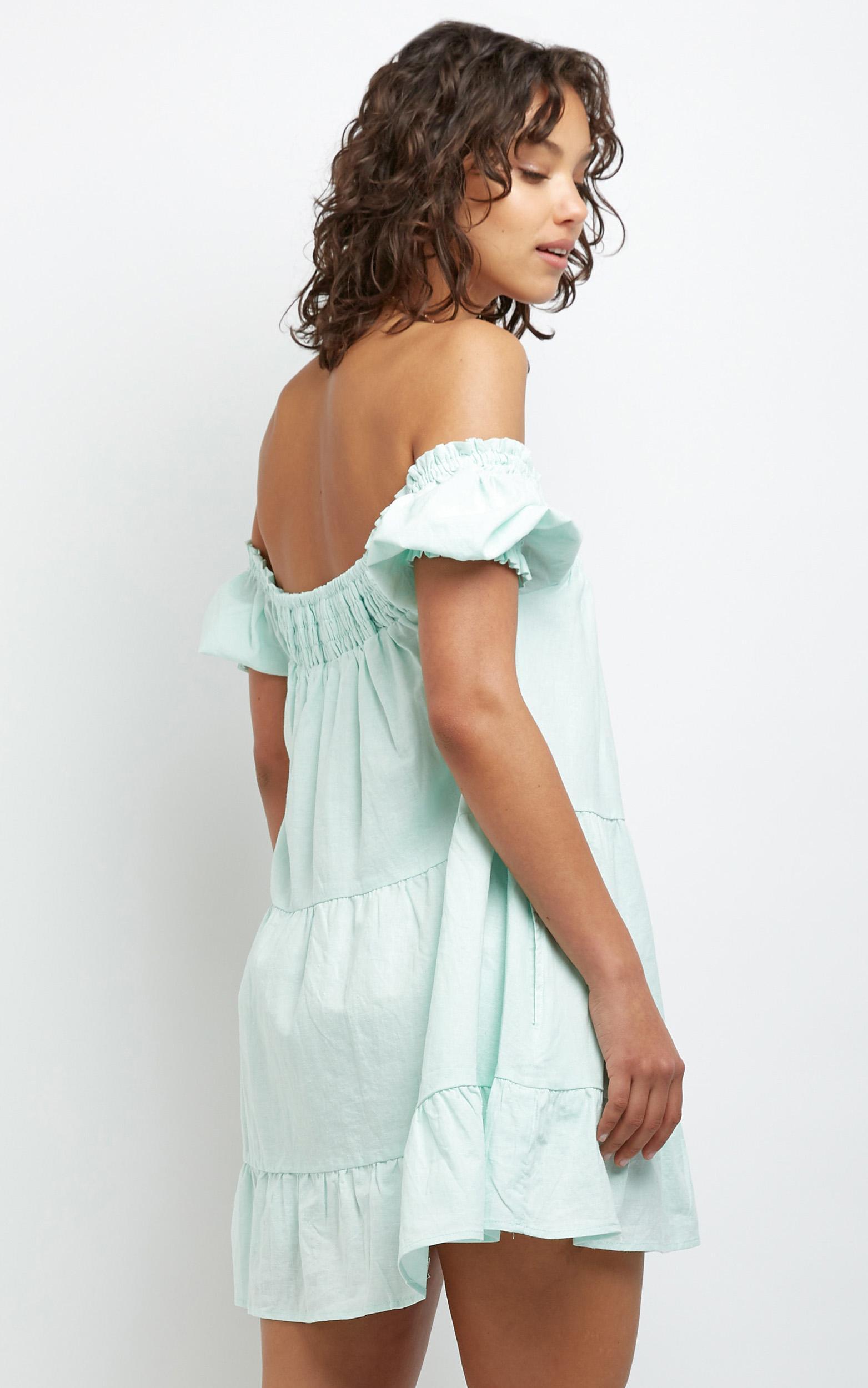 Spring Creek Dress in mint - 12 (L), Green, hi-res image number null