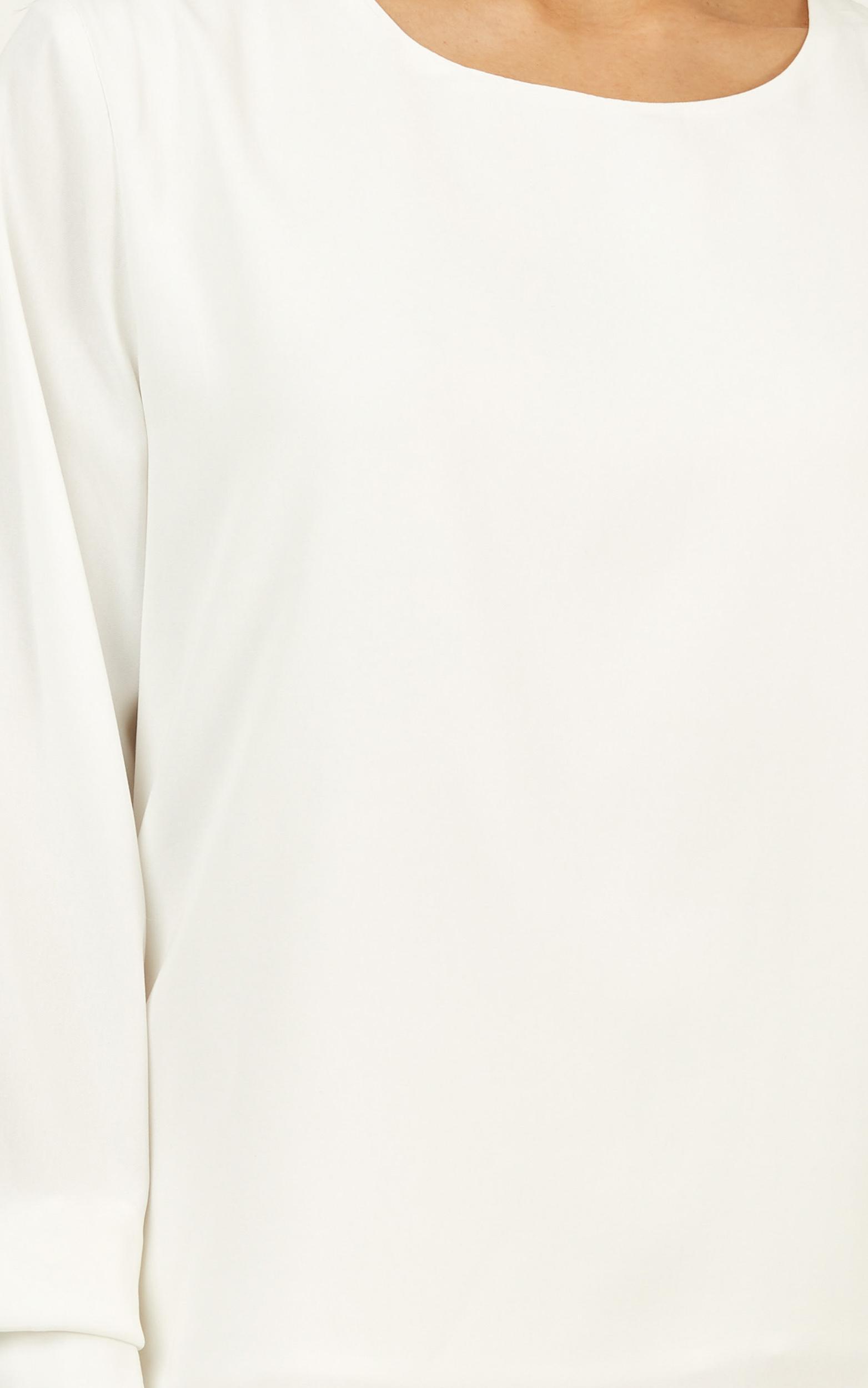 Metropolitan Girl top in white - 16 (XXL), White, hi-res image number null