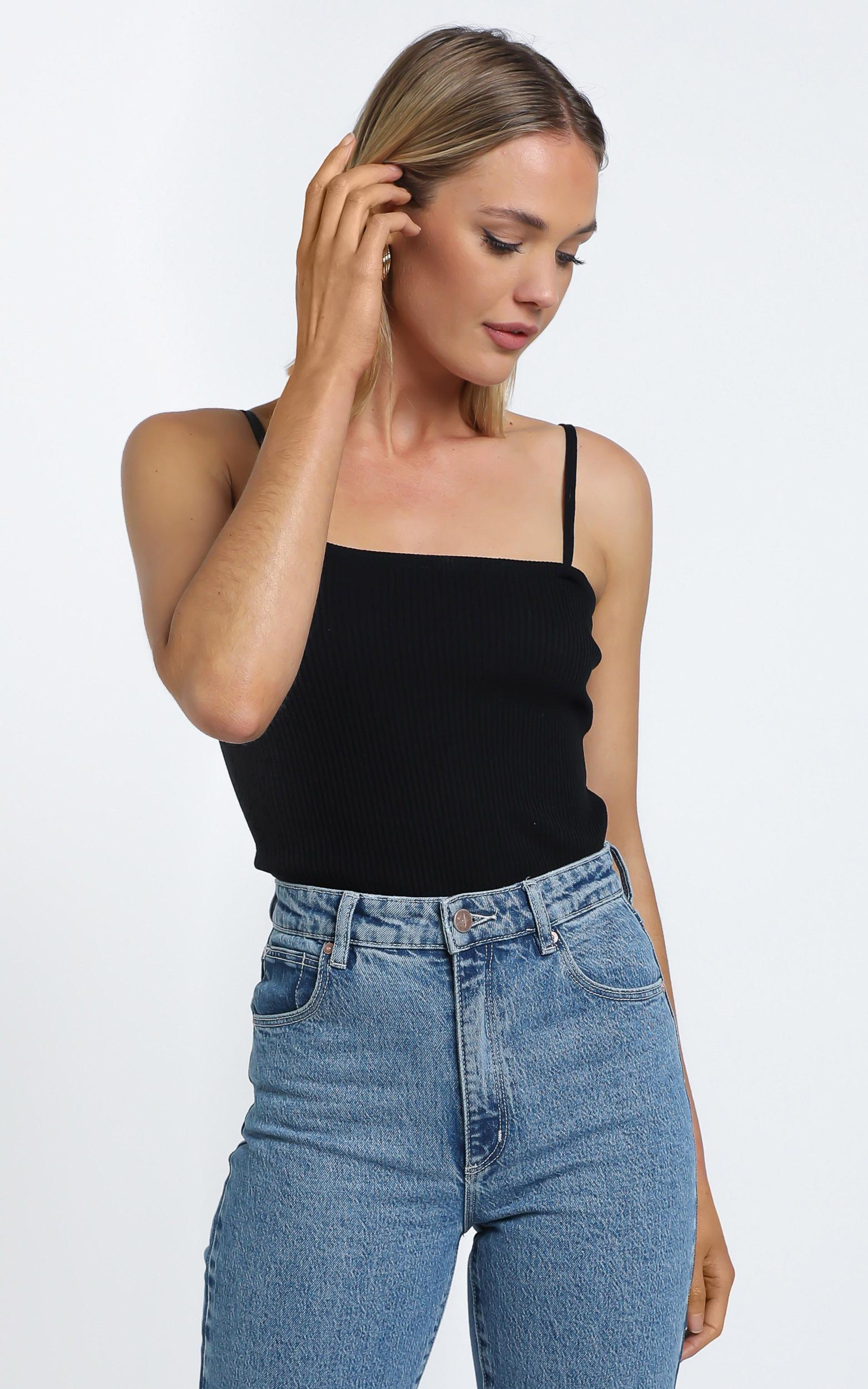 Carrillo Top in Black - M/L, BLK1, hi-res image number null