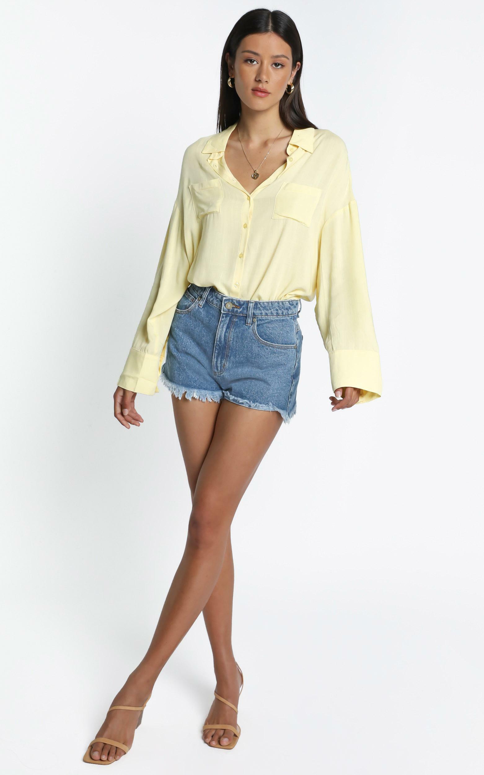 Amaka Shirt in Lemon - 14, YEL1, hi-res image number null