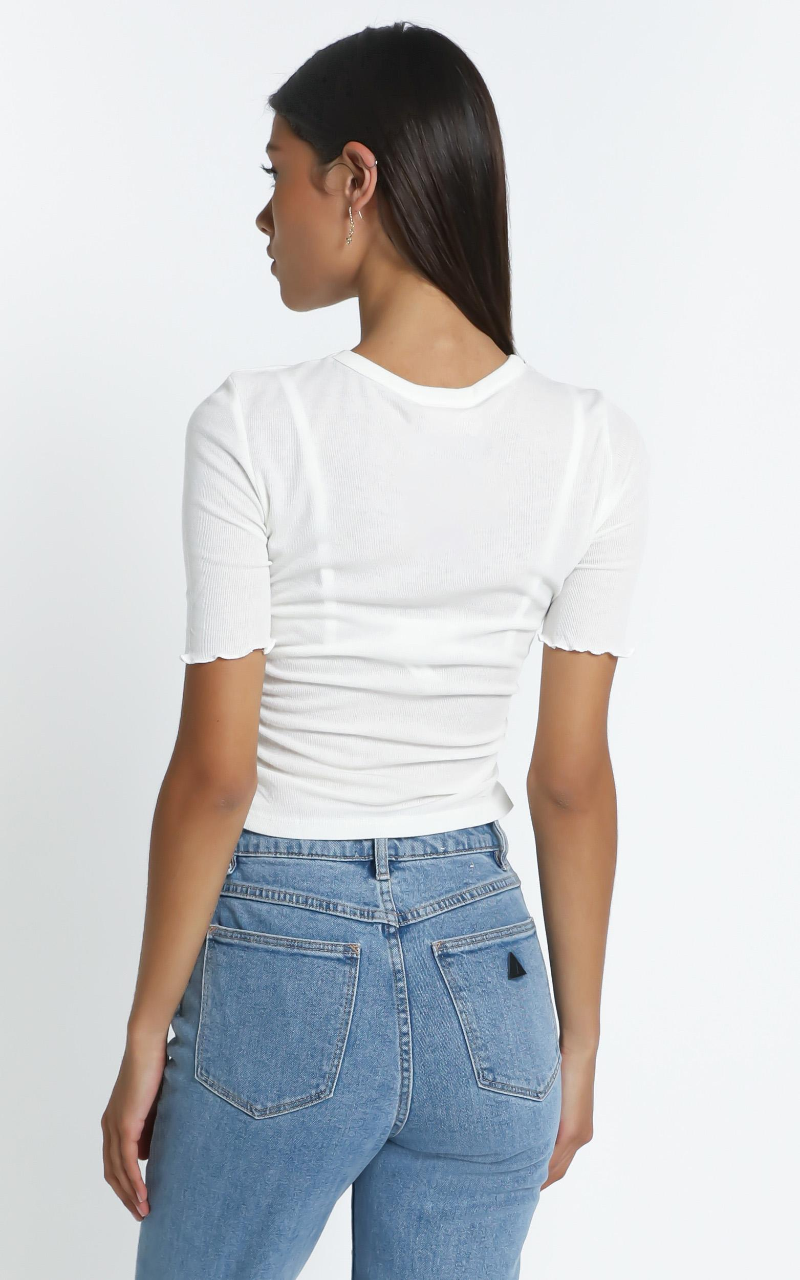 Therese T Shirt in White - 6 (XS), White, hi-res image number null