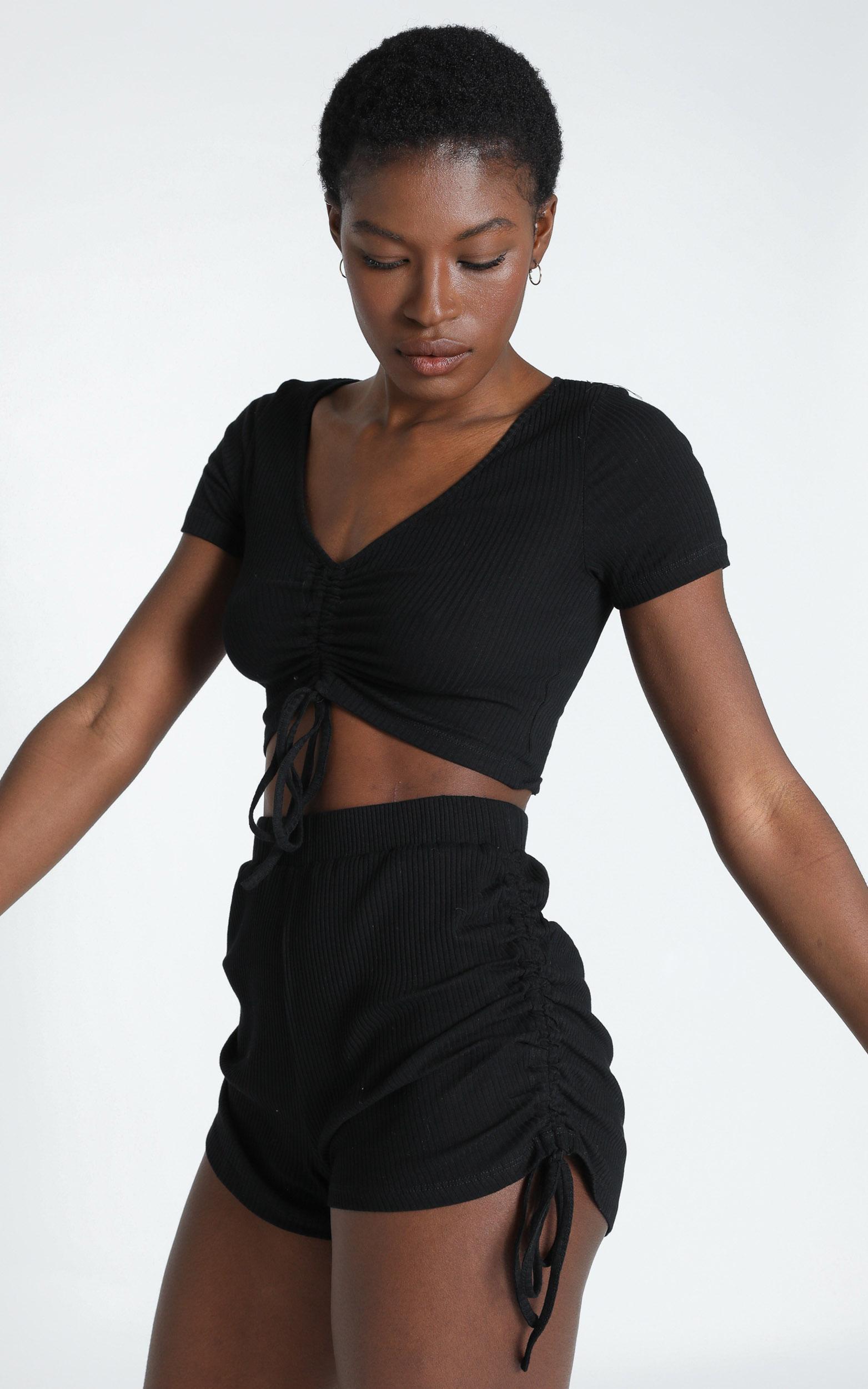 Jemila Short in Black - 6 (XS), Black, hi-res image number null