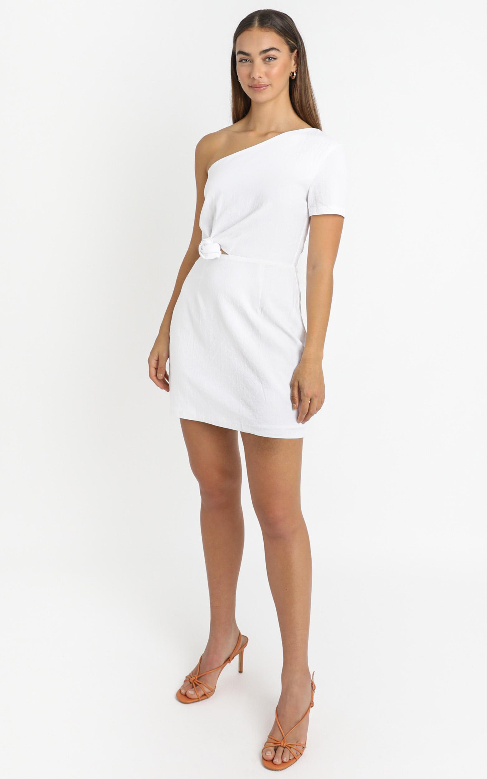 Ruby Dawn Dress in White - 6 (XS), White, hi-res image number null