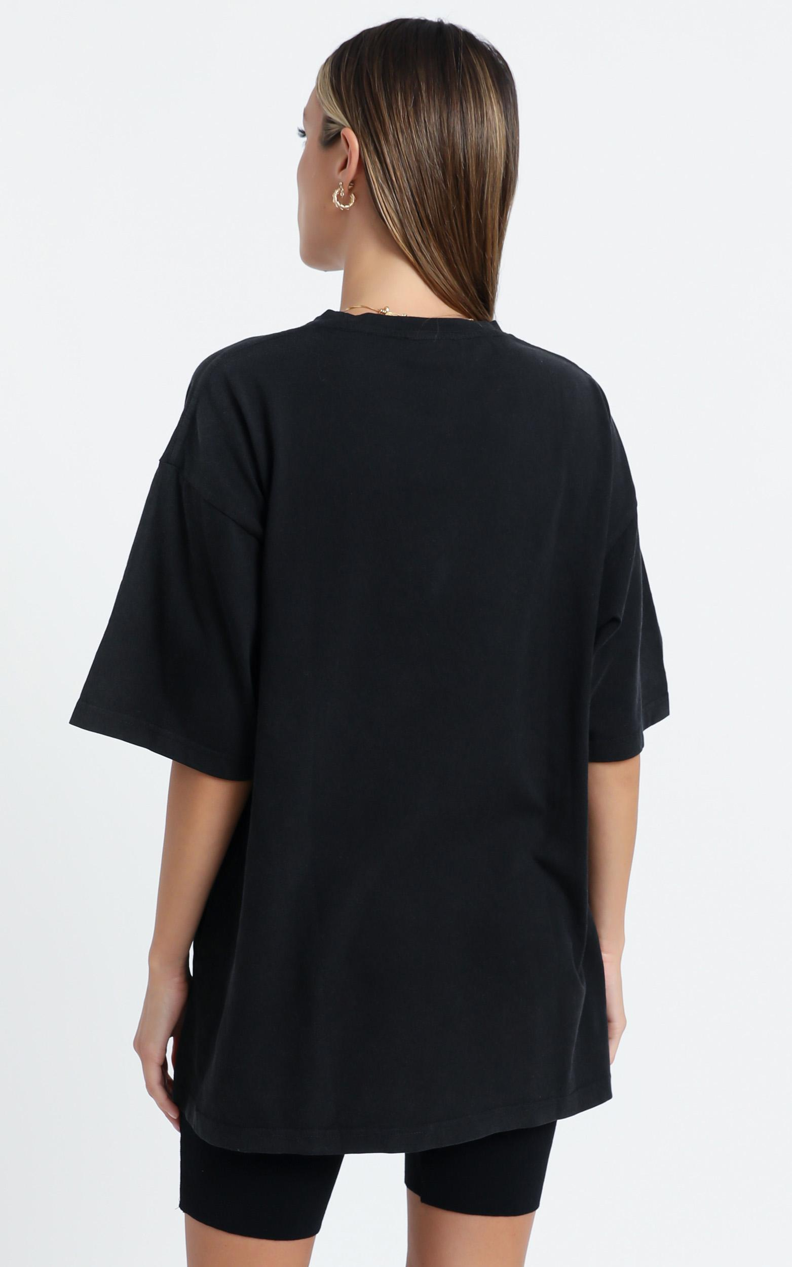 Carra Oversized Tee in  Black - 6 (XS), Black, hi-res image number null