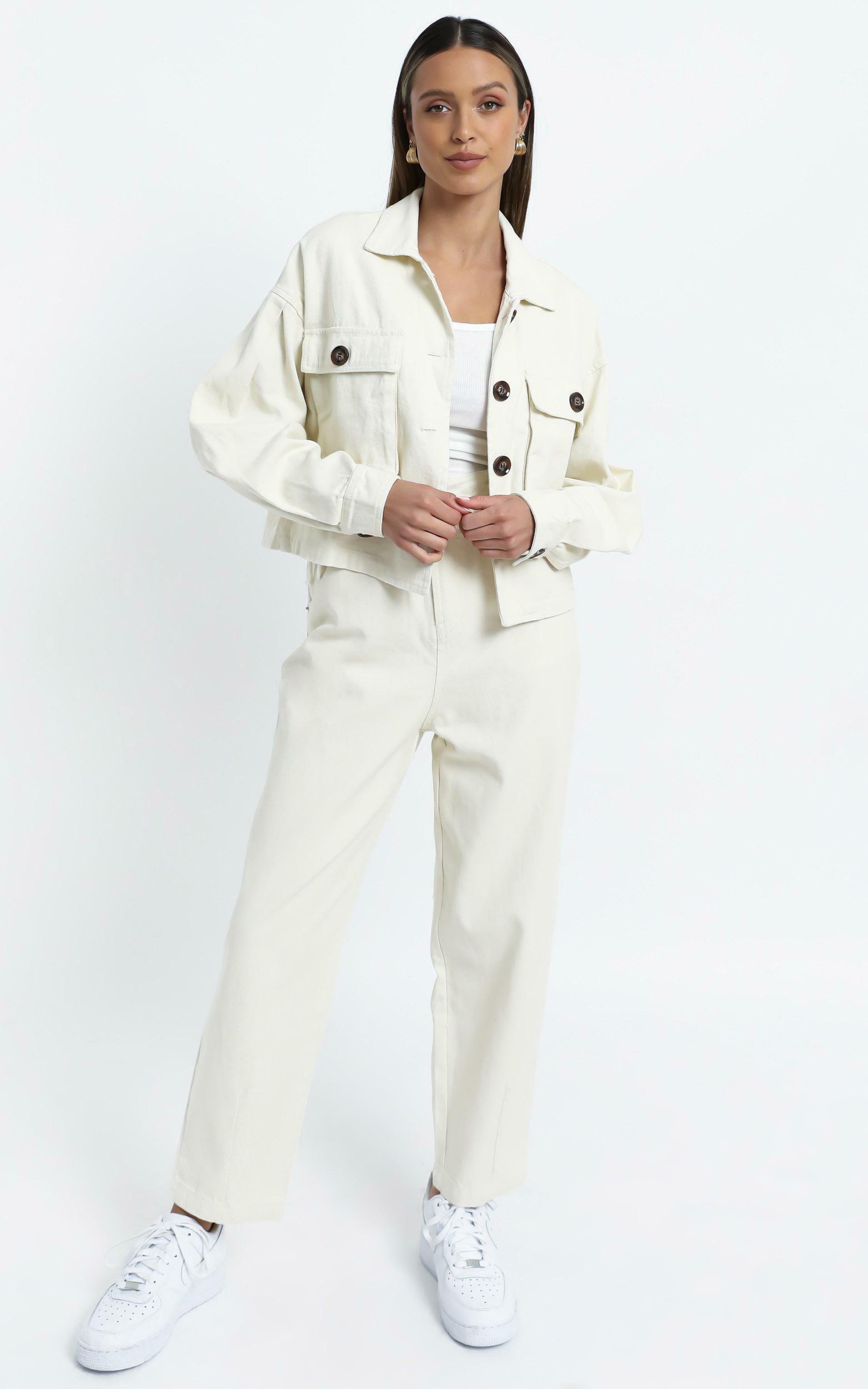 Maygan Jacket in Cream - 14 (XL), Cream, hi-res image number null