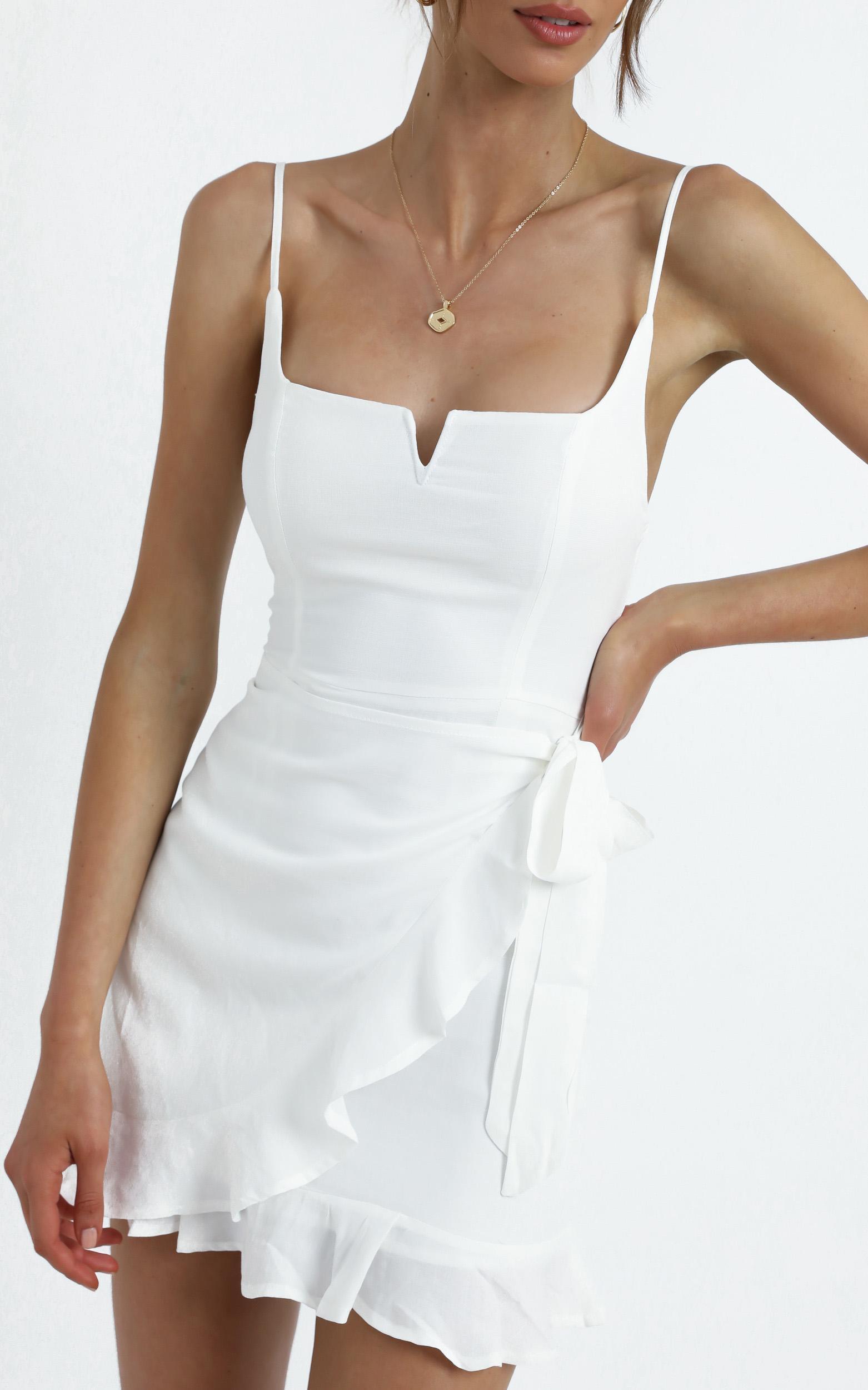 Hunter Dress in White - 12 (L), WHT1, hi-res image number null