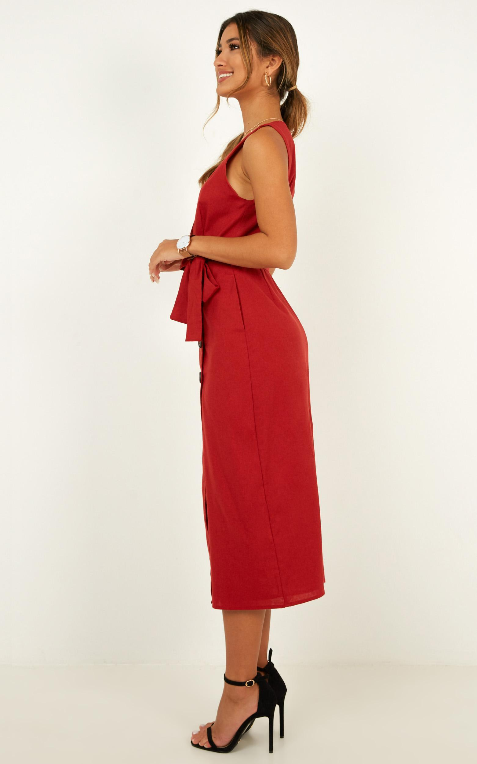 Out Of Office Dress in chilli - 20 (XXXXL), Red, hi-res image number null