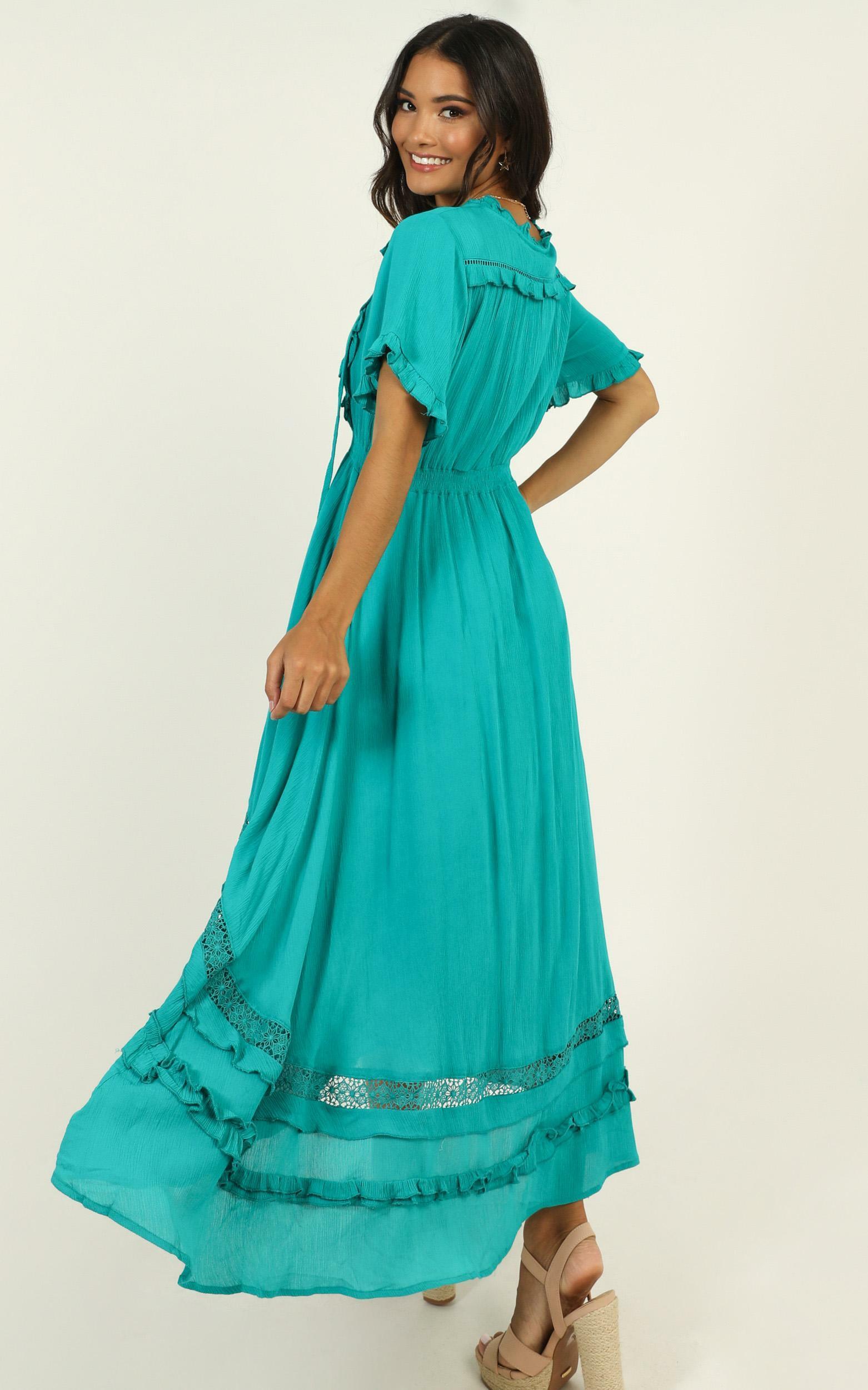 Sunday Sunsets Dress in blue - 14 (XL), Blue, hi-res image number null