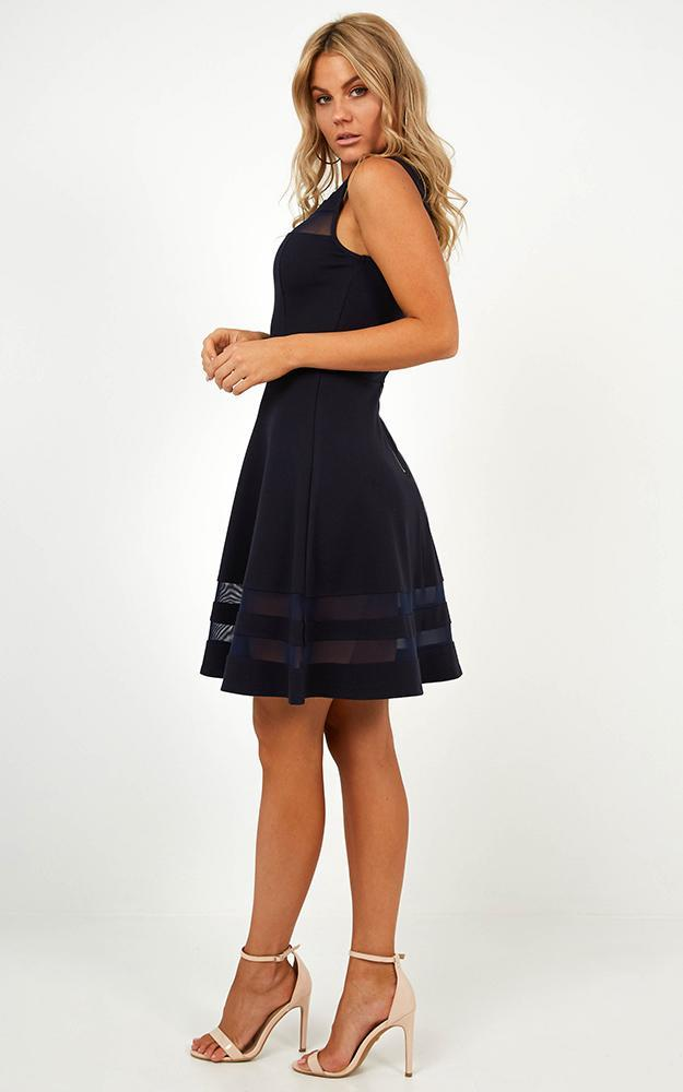Results Driven Dress in Navy - 4 (XXS), Navy, hi-res image number null
