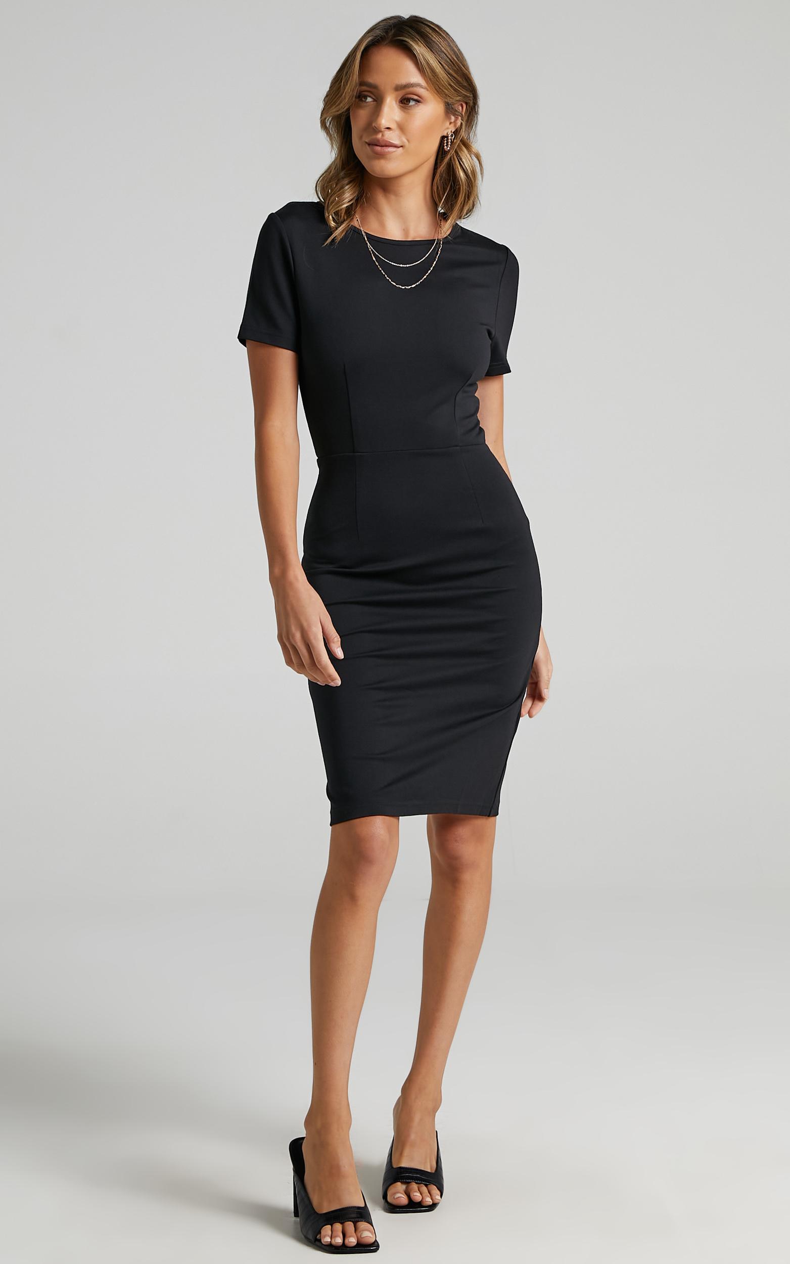 Marlie Dress in Black - 06, BLK1, hi-res image number null