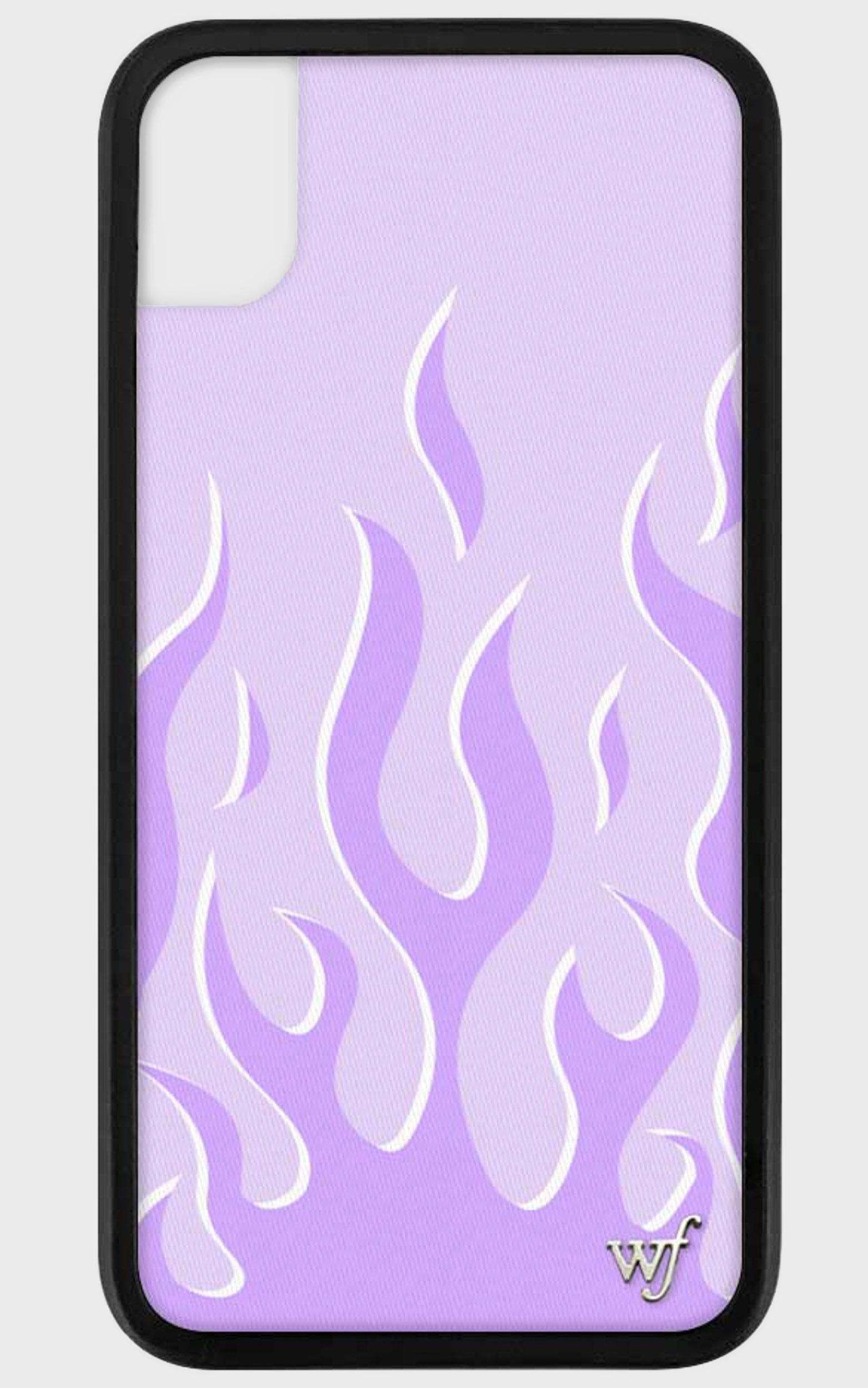 Wildflower - Iphone Case in Lavender Flames - 8, PRP3, hi-res image number null