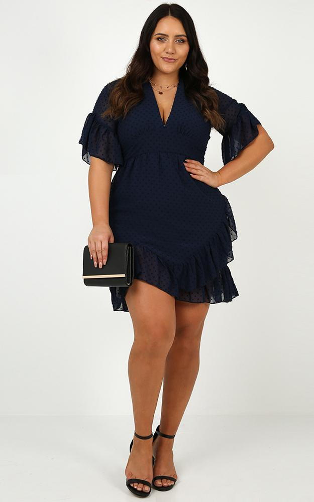 Faded Love Dress in Navy - 20 (XXXXL), Navy, hi-res image number null