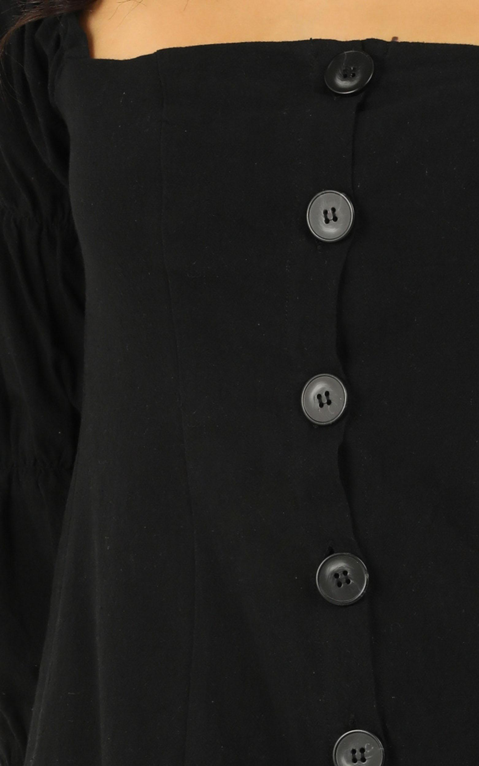 Something Else Dress in black - 12 (L), Black, hi-res image number null