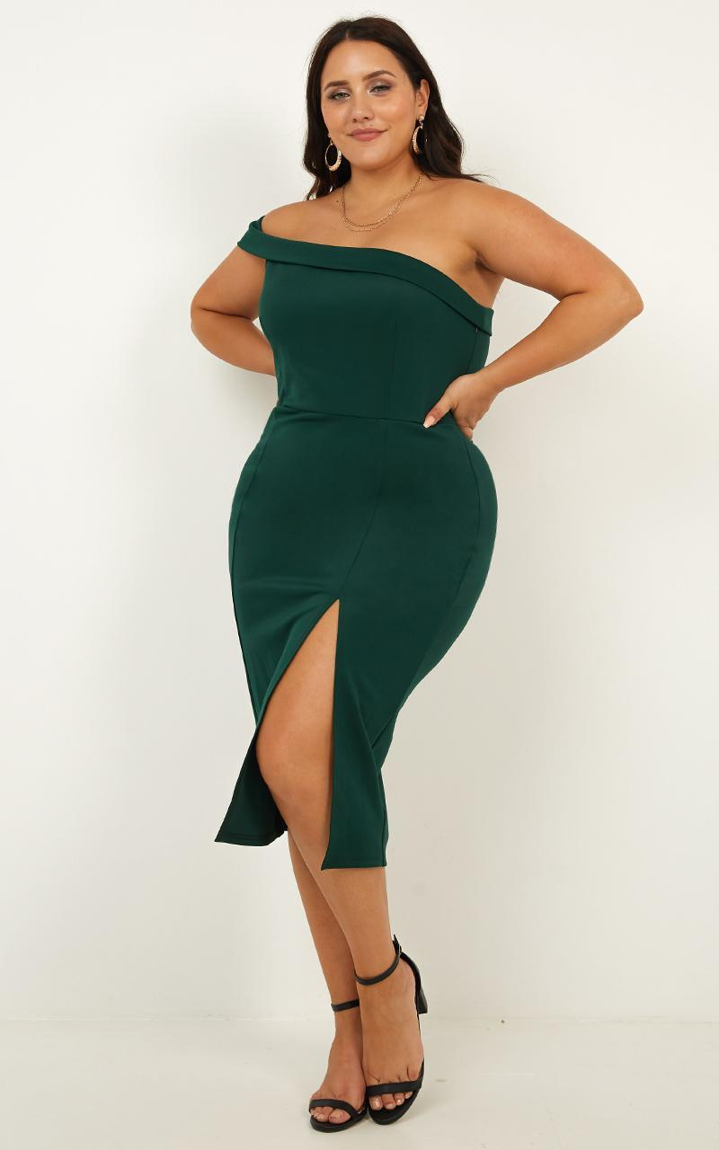 Everyday With You dress In emerald - 20 (XXXXL), Green, hi-res image number null