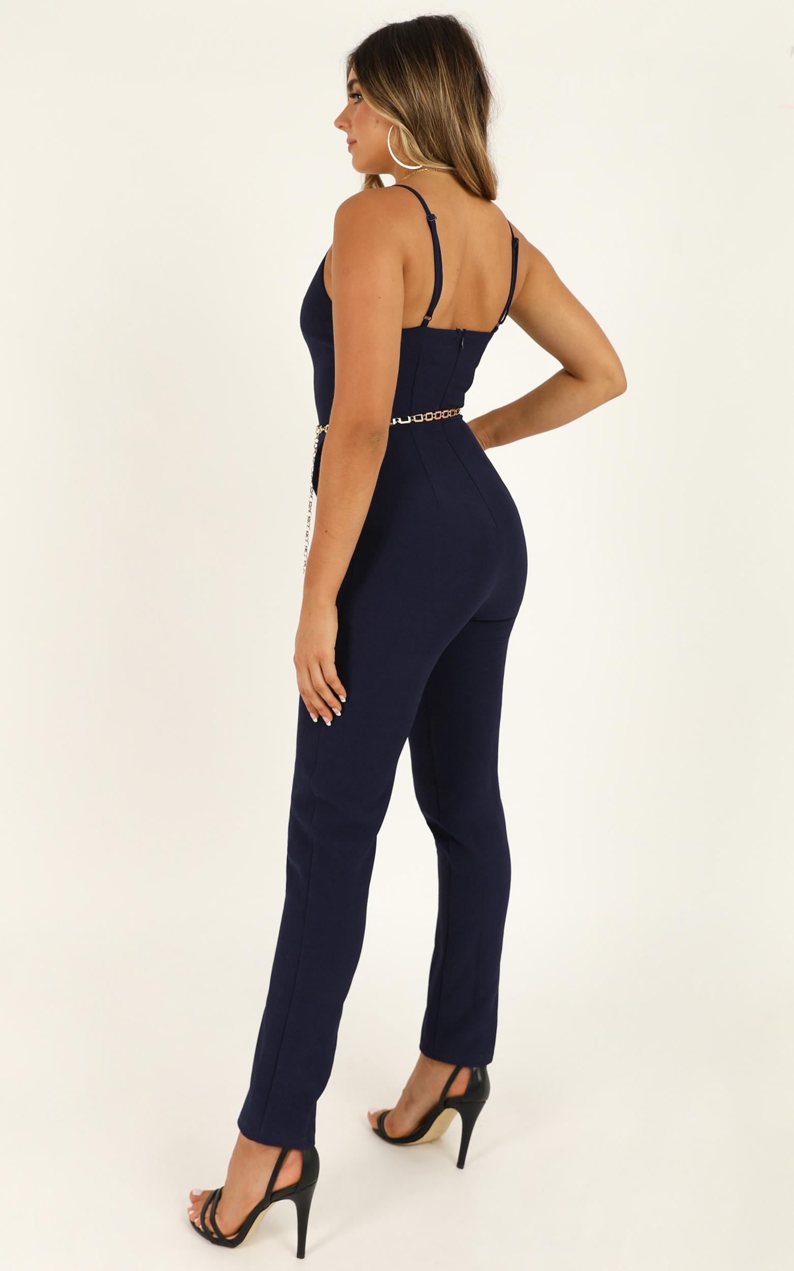 High Standards Jumpsuit in navy - 20 (XXXXL), Navy, hi-res image number null