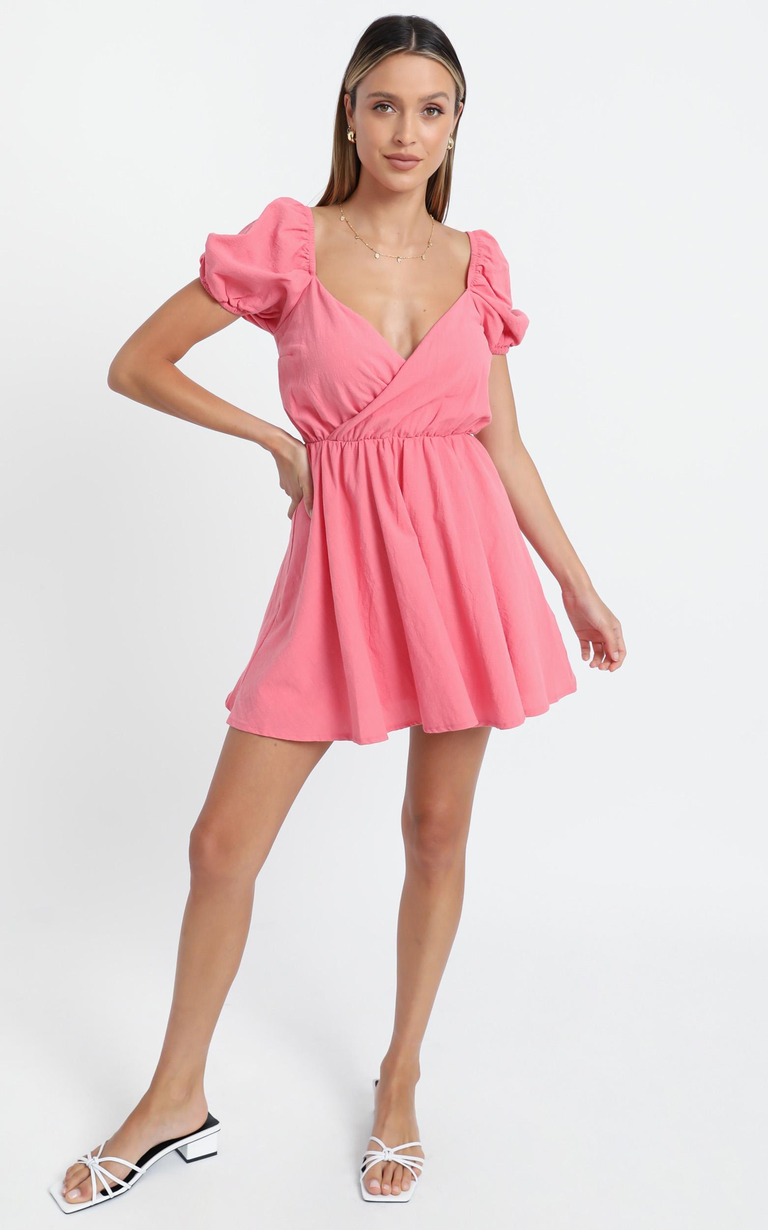Kamali Dress in Coral, PNK14, hi-res image number null