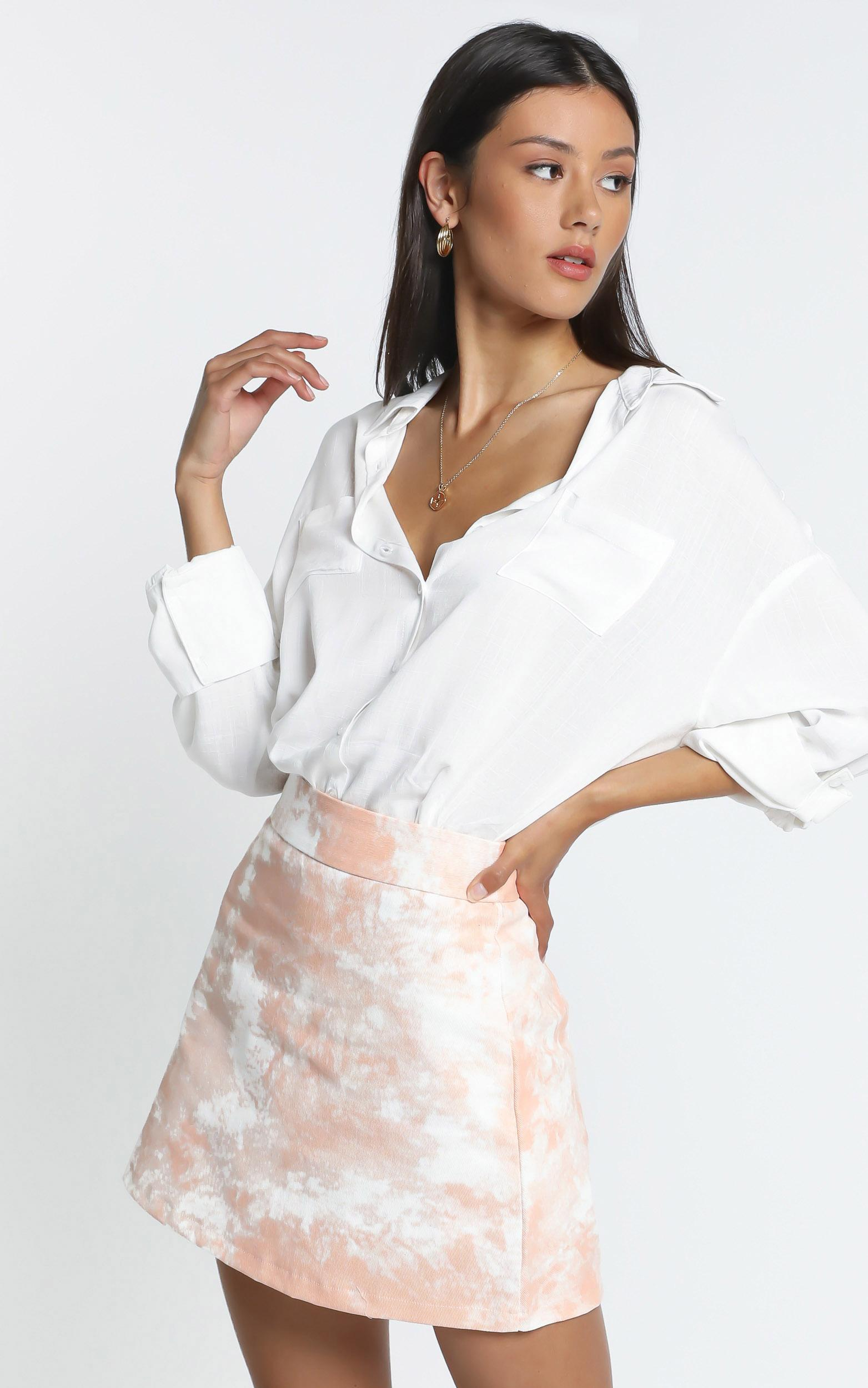 Amaka Shirt in White - 14 (XL), White, hi-res image number null