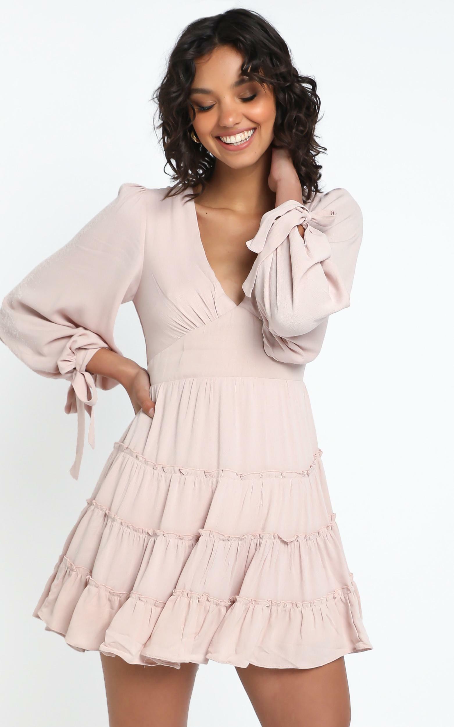 Elliot Dress in Blush - 12 (L), Blush, hi-res image number null
