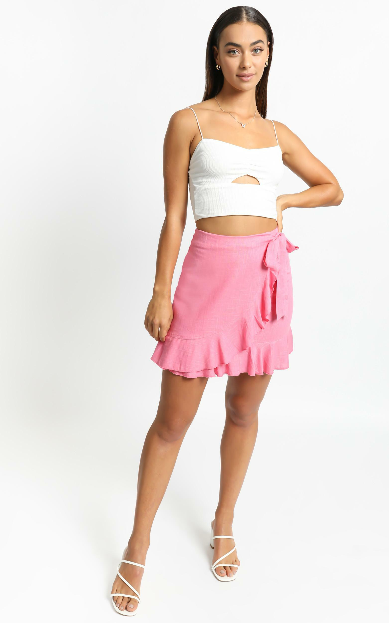 Over and Under Skirt in Pink - 6 (XS), PNK1, hi-res image number null