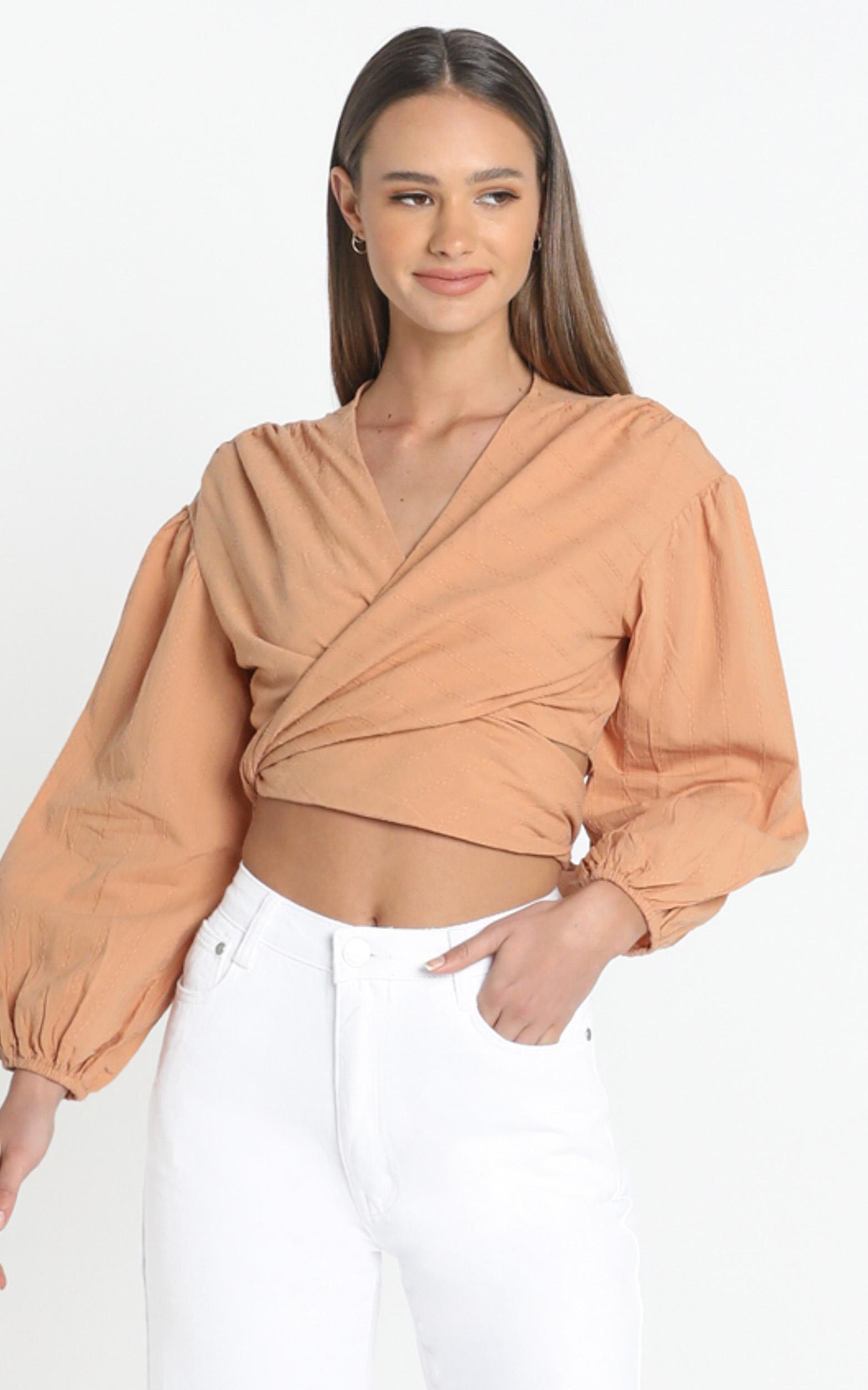 Brynn Top in  Rust - 14 (XL), RED1, hi-res image number null