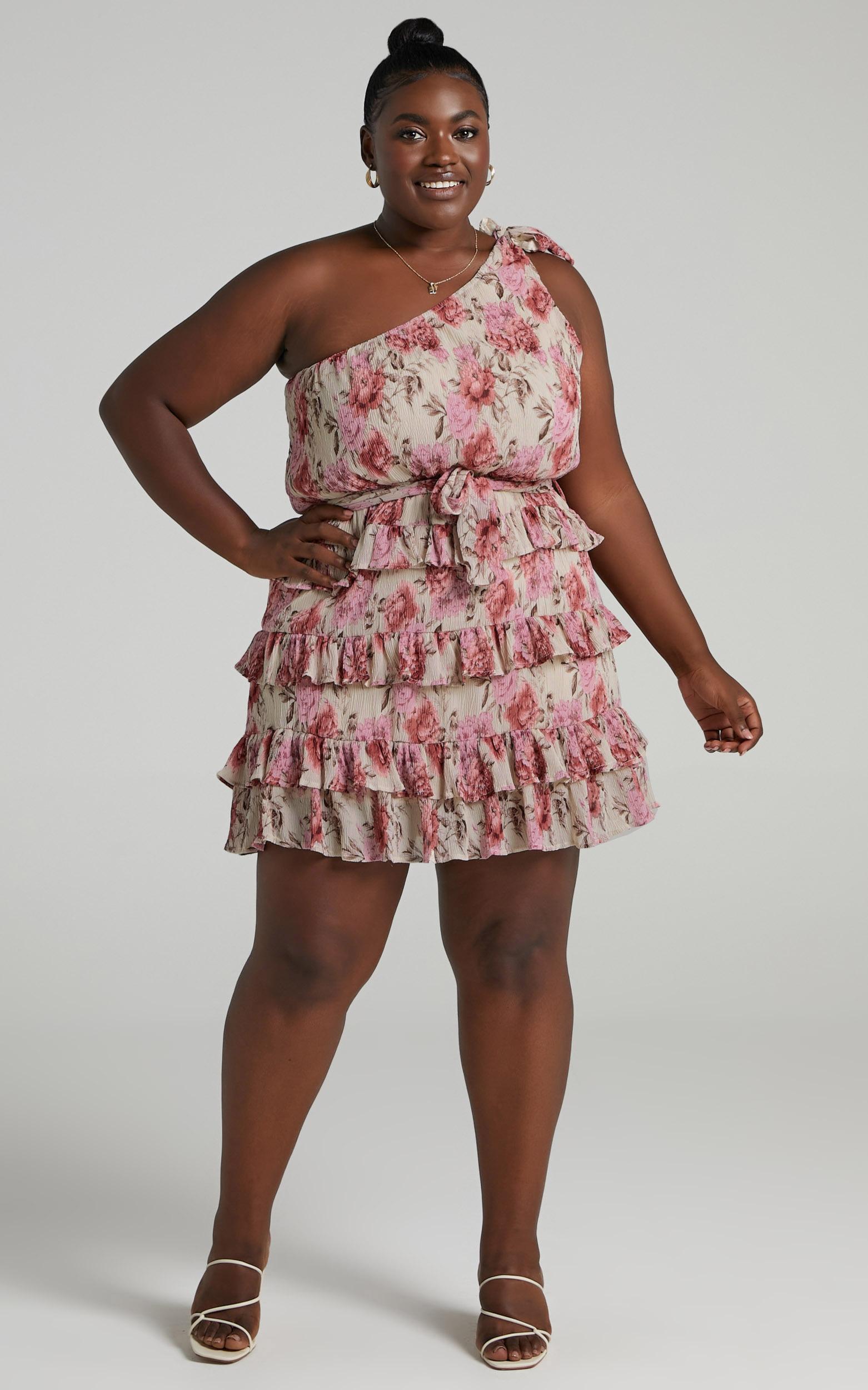 Love You More Dress in Rose Floral - 14, PNK1, hi-res image number null