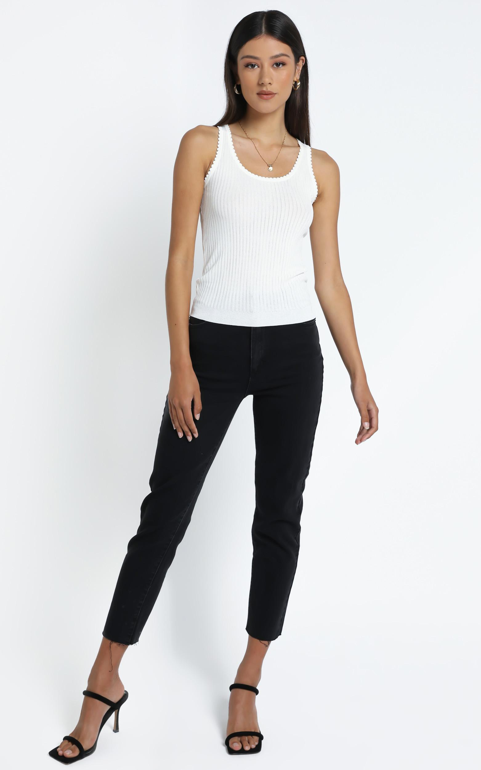 Ortega Top in White - 14 (XL), White, hi-res image number null