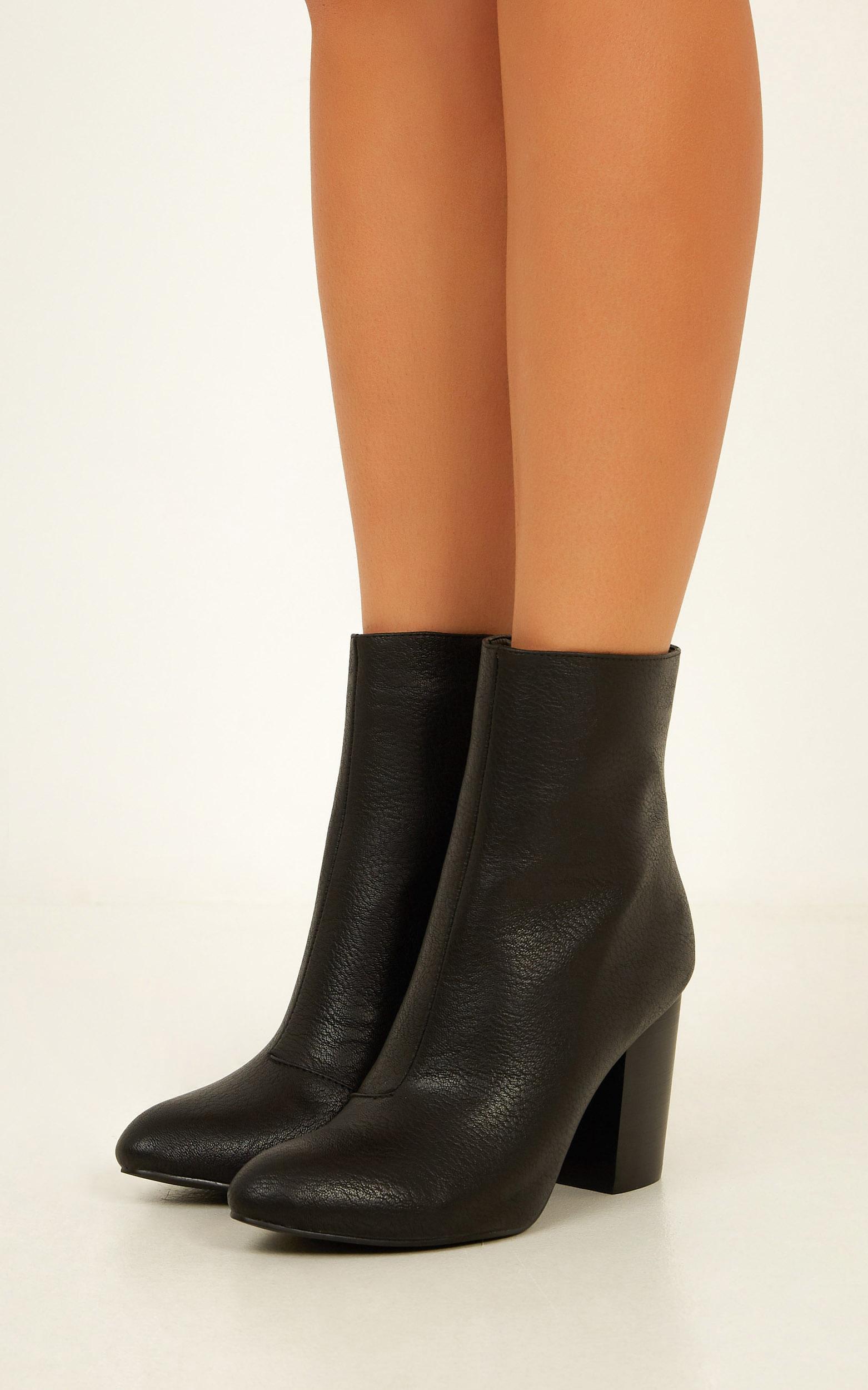 Billini - Janita boots in black tumble - 10, Black, hi-res image number null