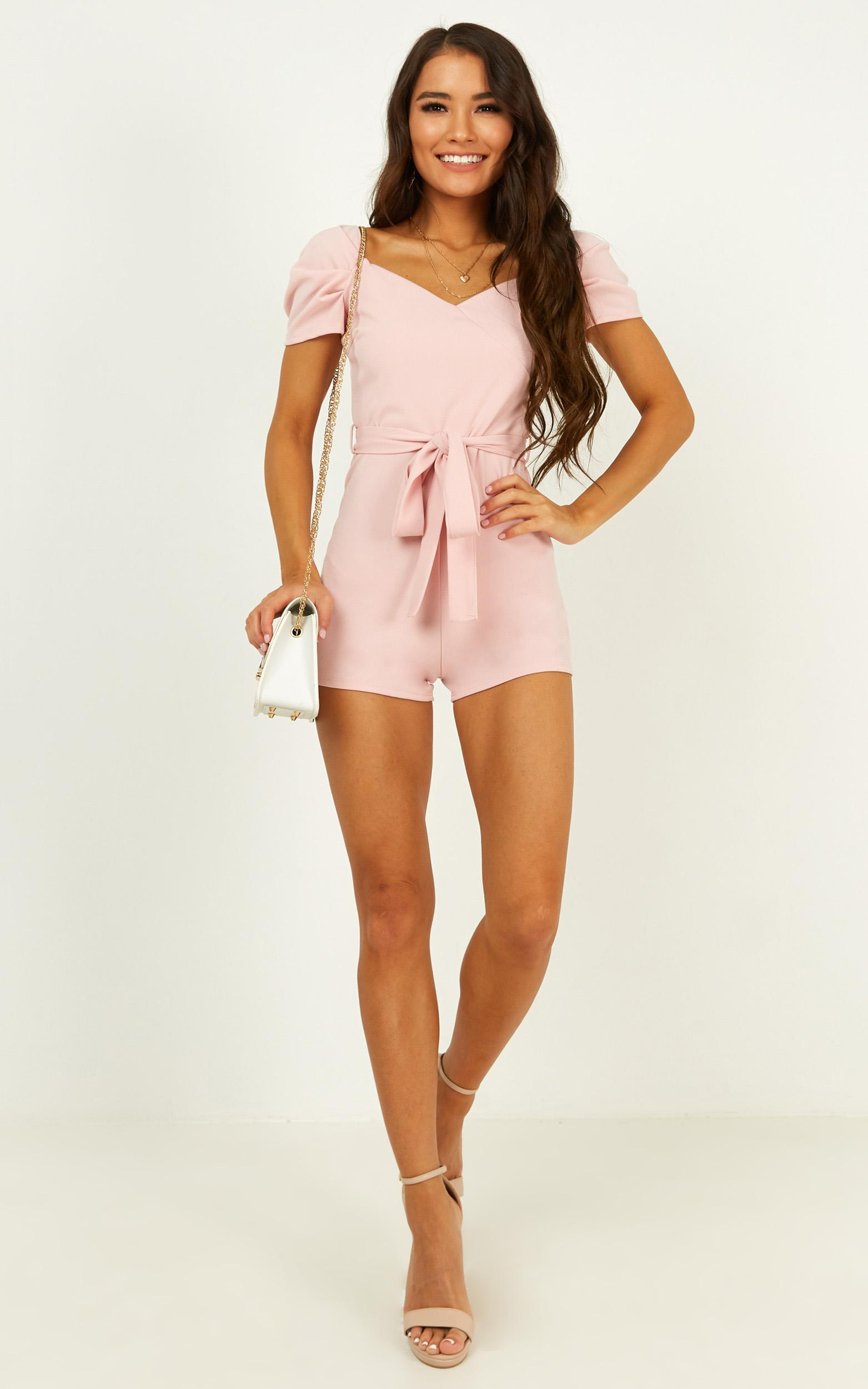 First Draft playsuit in pink - 12 (L), Pink, hi-res image number null