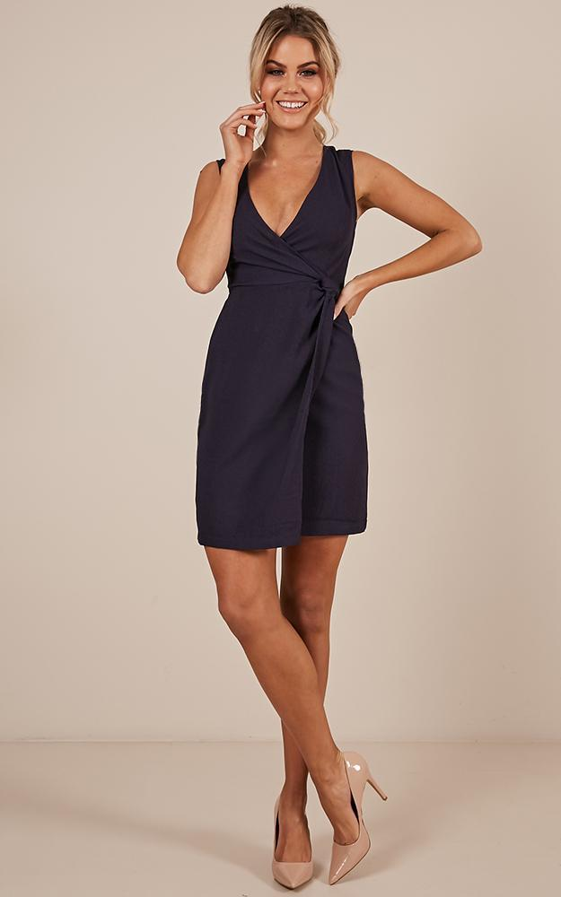 Come To Life Dress in navy - 12 (L), Navy, hi-res image number null