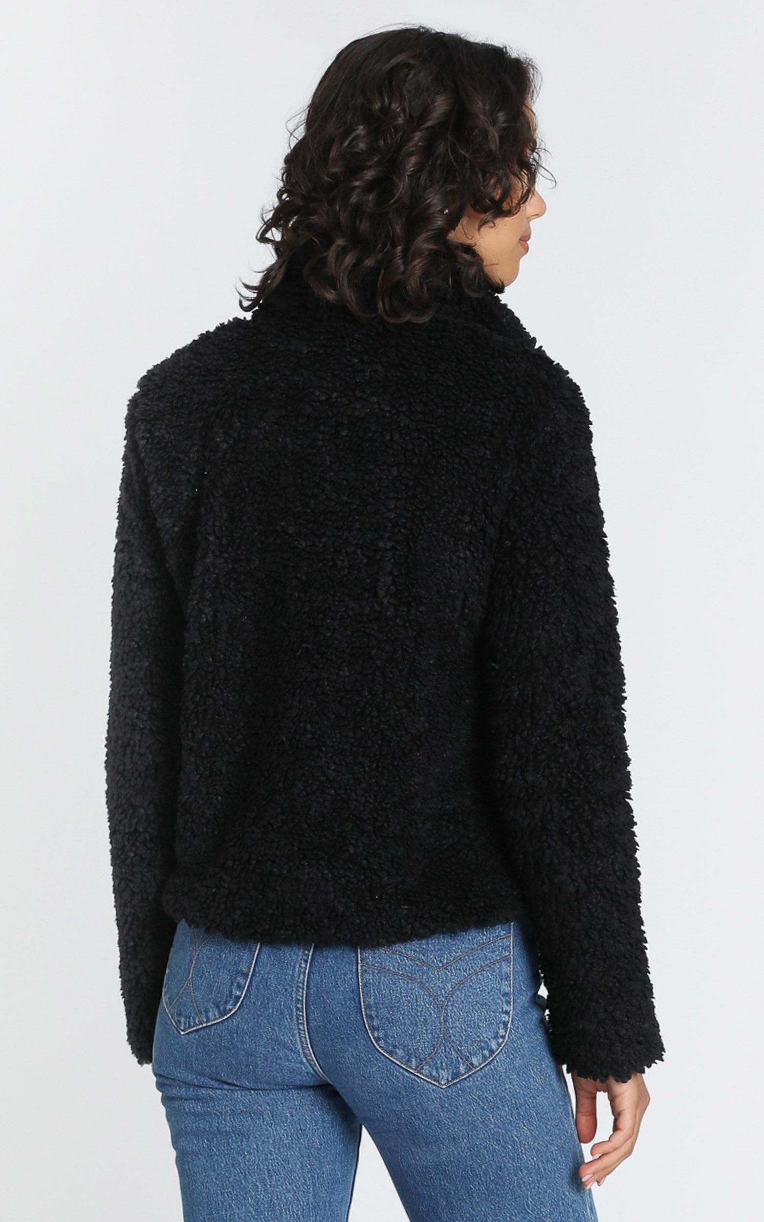 Brody Coat in Black - 8 (S), Black, hi-res image number null