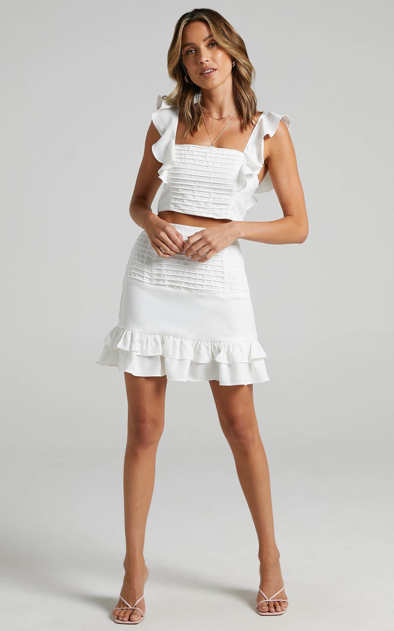 Make Me Stay Two Piece Set in White - 20, WHT5, hi-res image number null