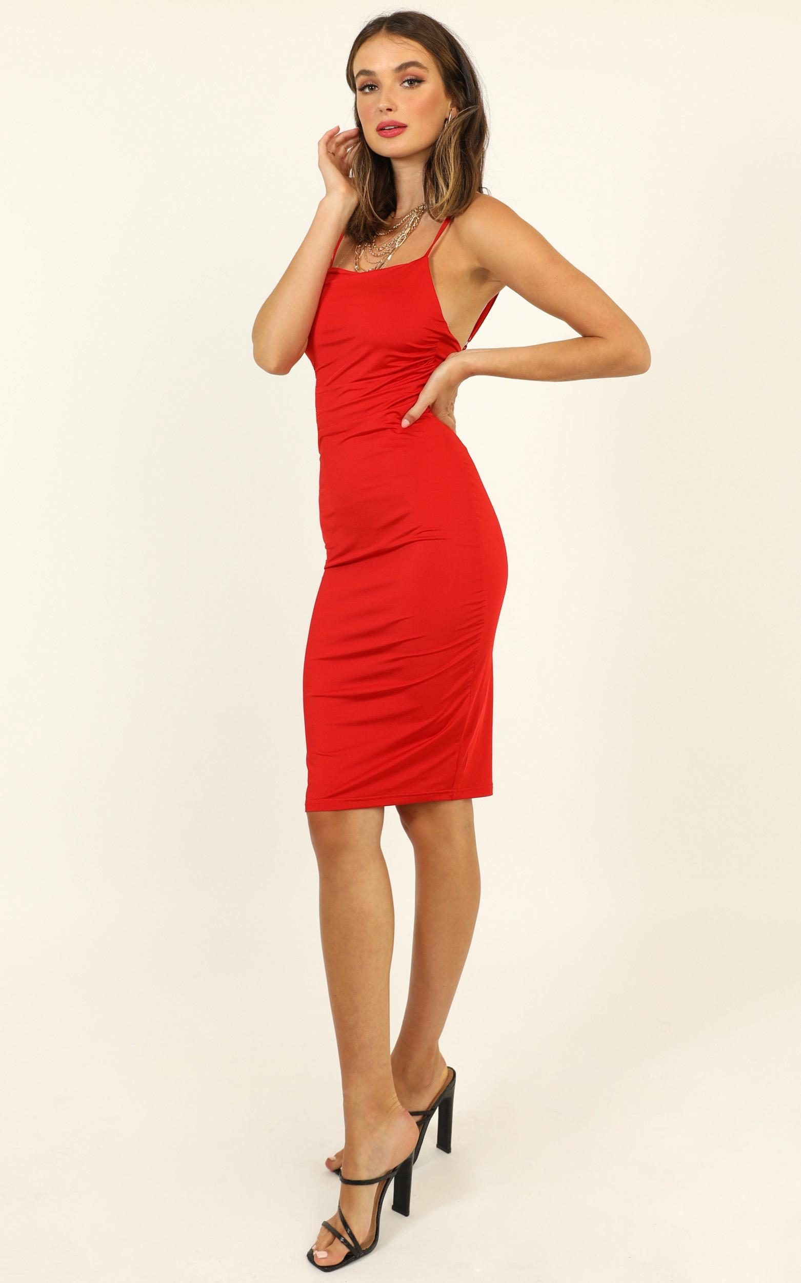 I Feel The Love Dress in red - 14 (XL), Red, hi-res image number null