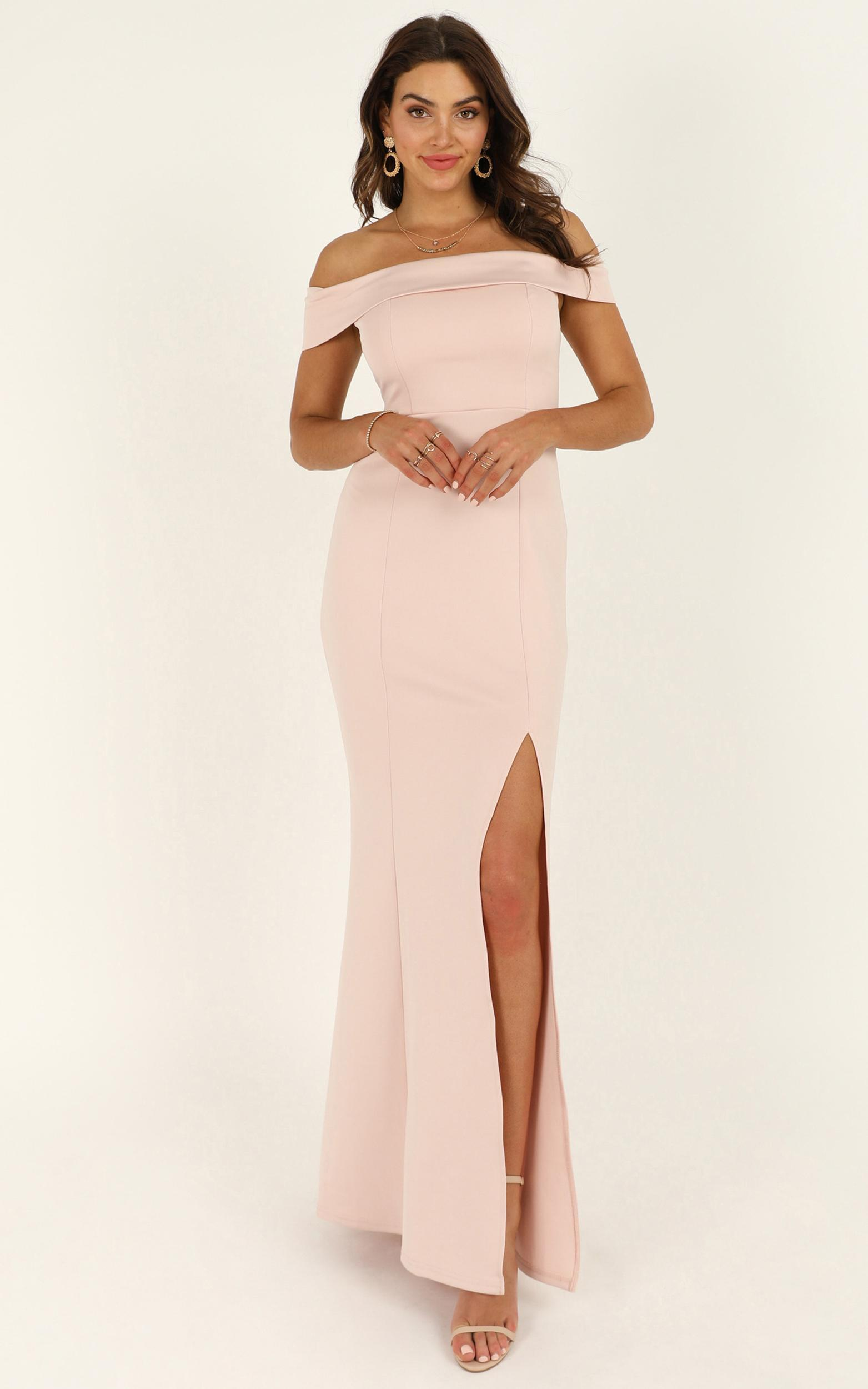 We Got This Feeling Dress in blush - 20 (XXXXL), Blush, hi-res image number null