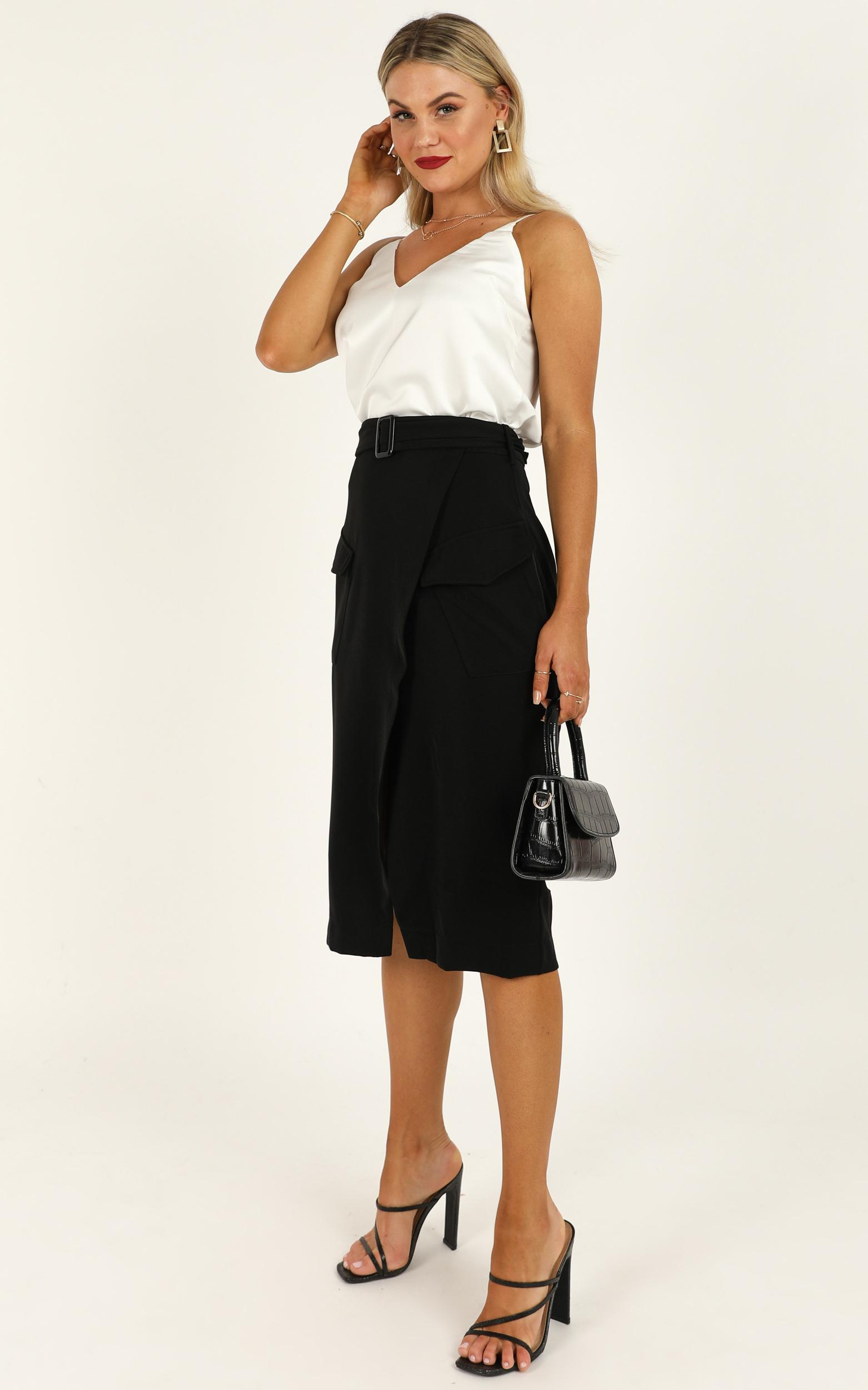 Decision Maker skirt in  black - 14 (XL), Black, hi-res image number null
